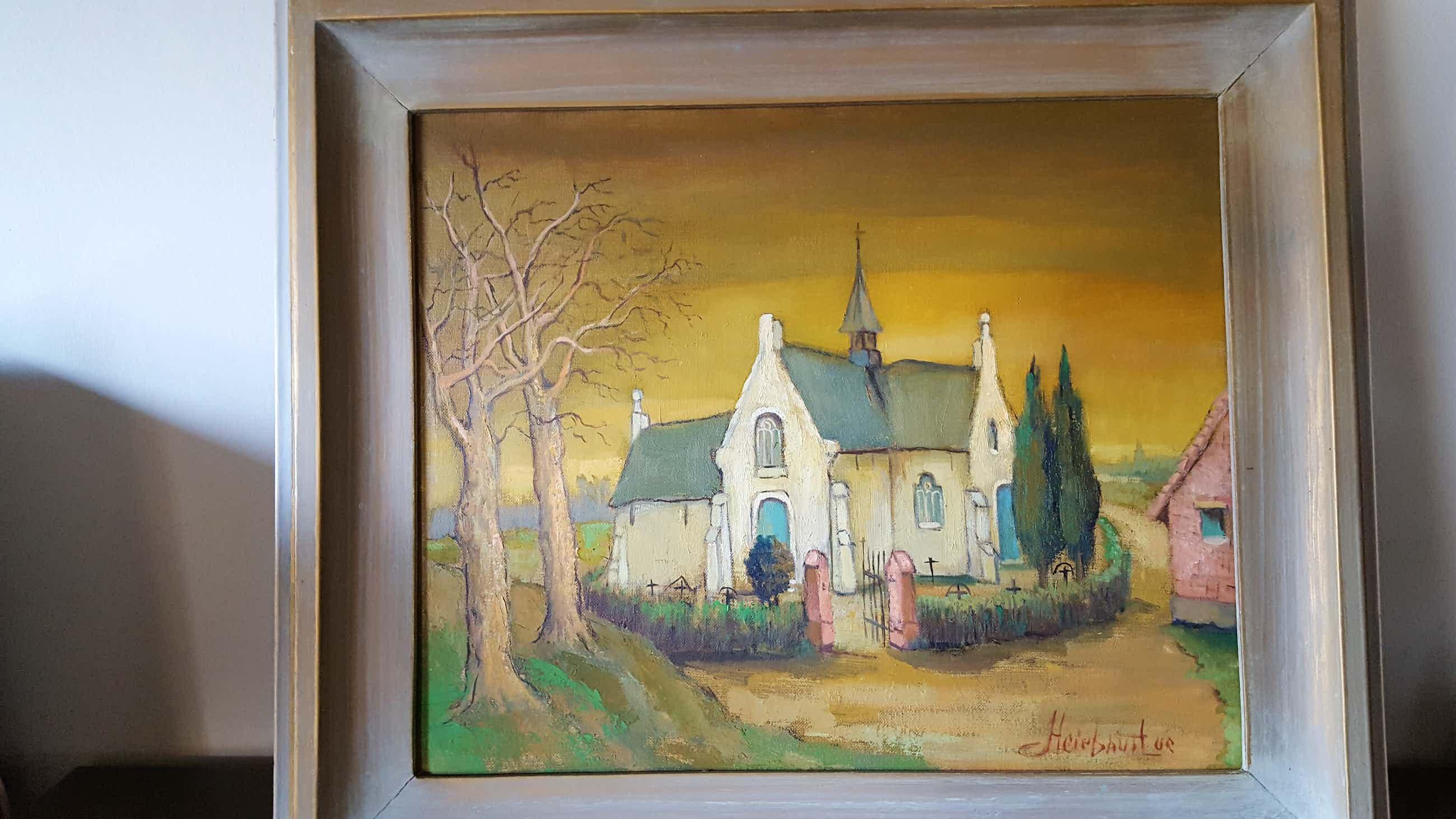 Luc Heirbaut - kerkje van vlassenbroek kopen? Bied vanaf 50!