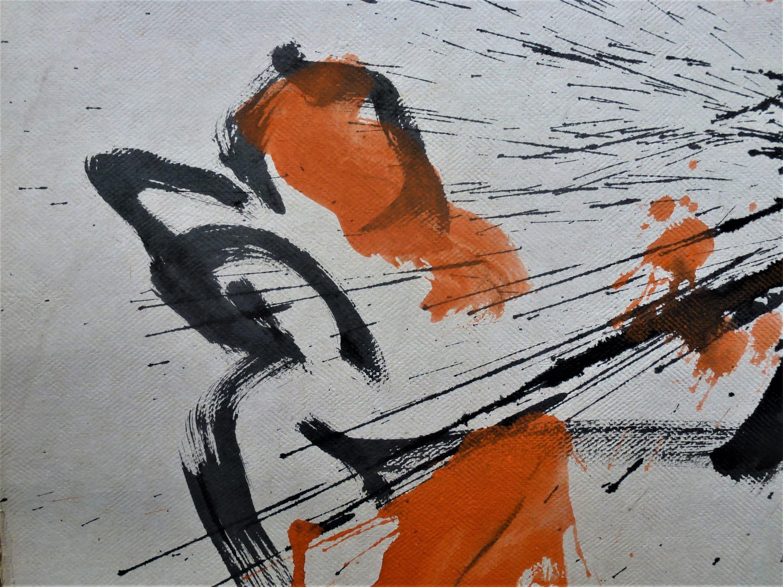 Anton Heyboer - De oervogel Mooie krachtige schildering . kopen? Bied vanaf 200!