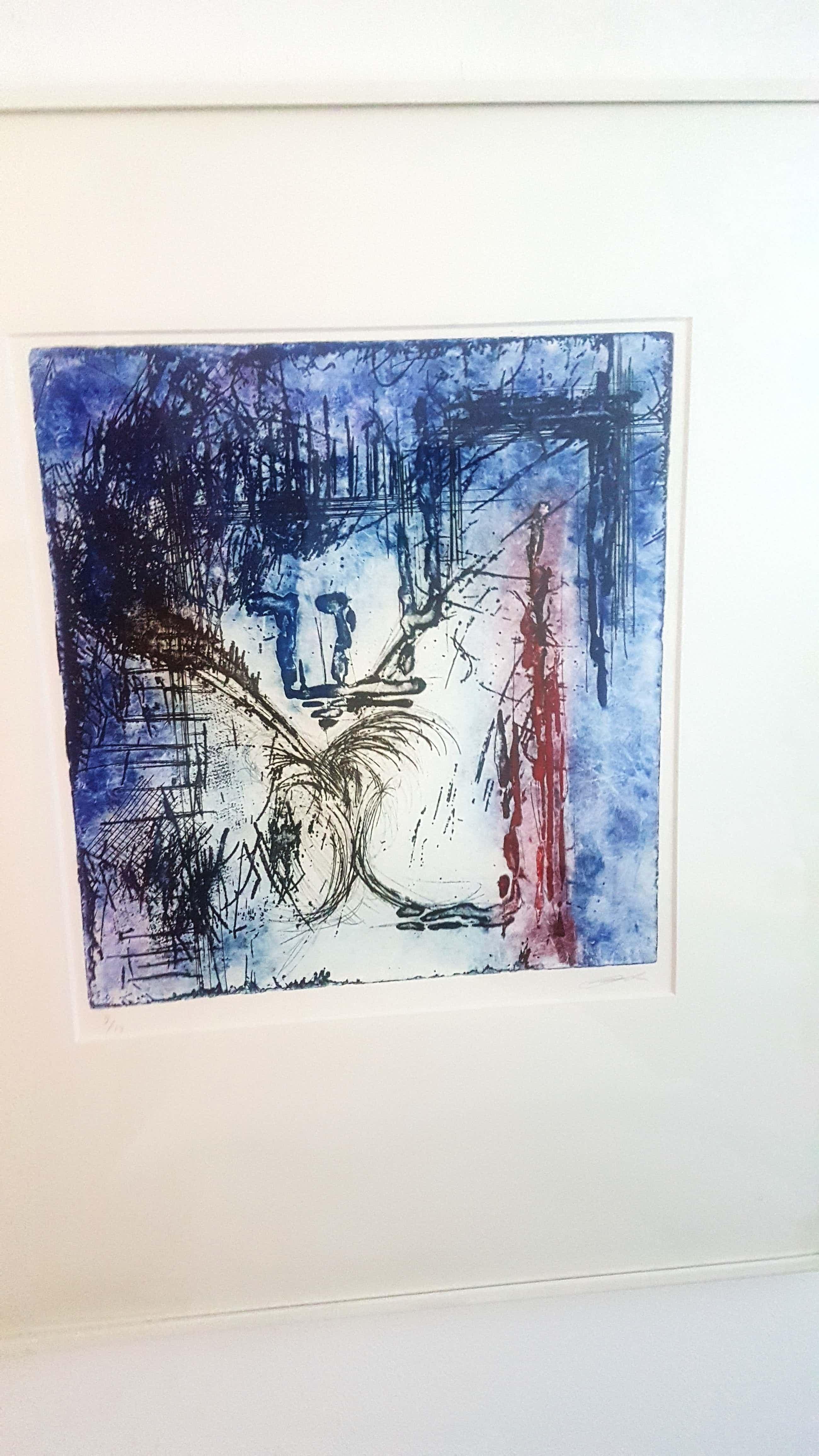 Olivier Beijn - Mooie abstracte zeefdruk kopen? Bied vanaf 50!