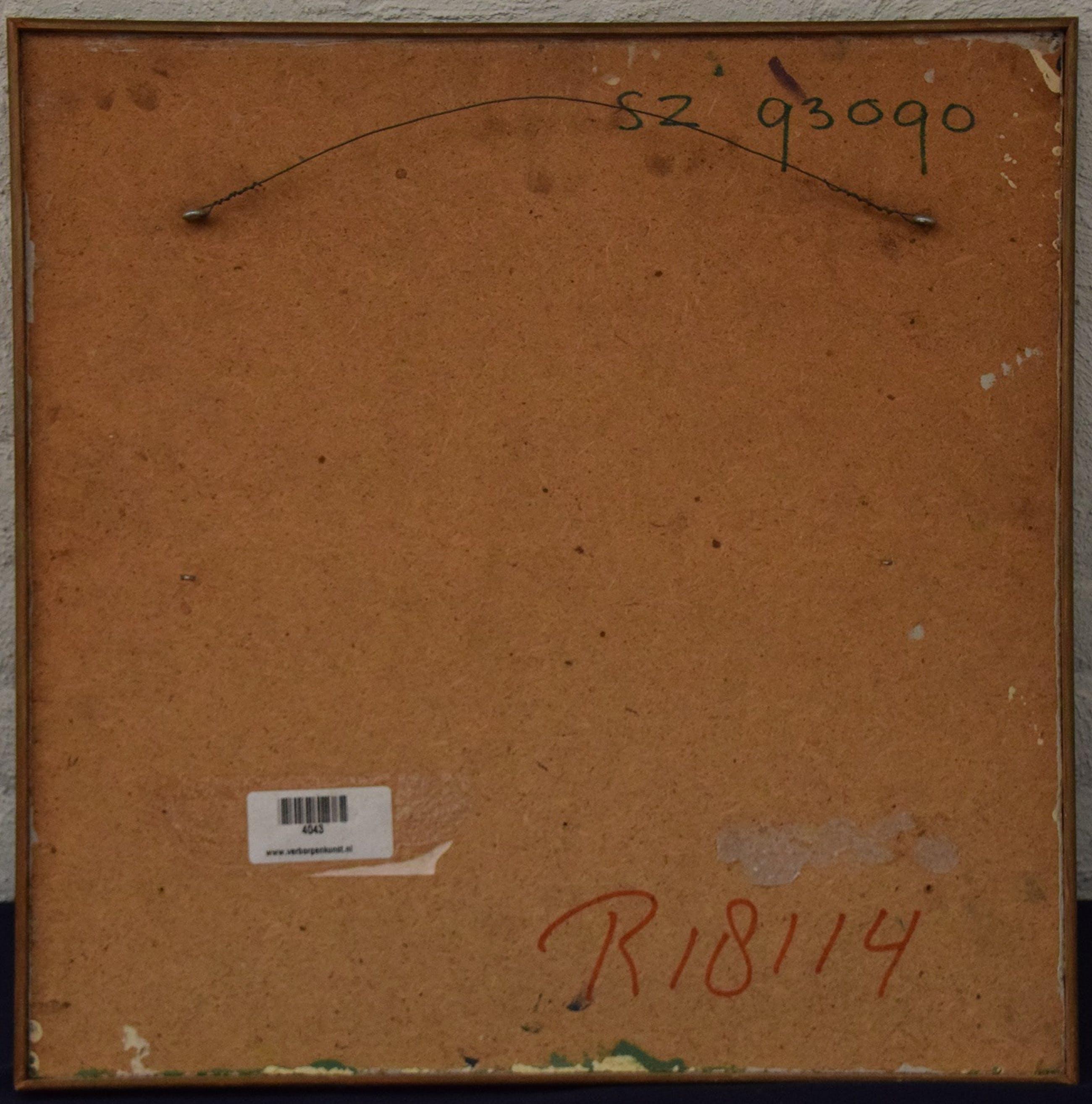 Bob Zijlmans - (geen titel/onbekend) - 1950/1960 - olieverf op vezelplaat kopen? Bied vanaf 20!