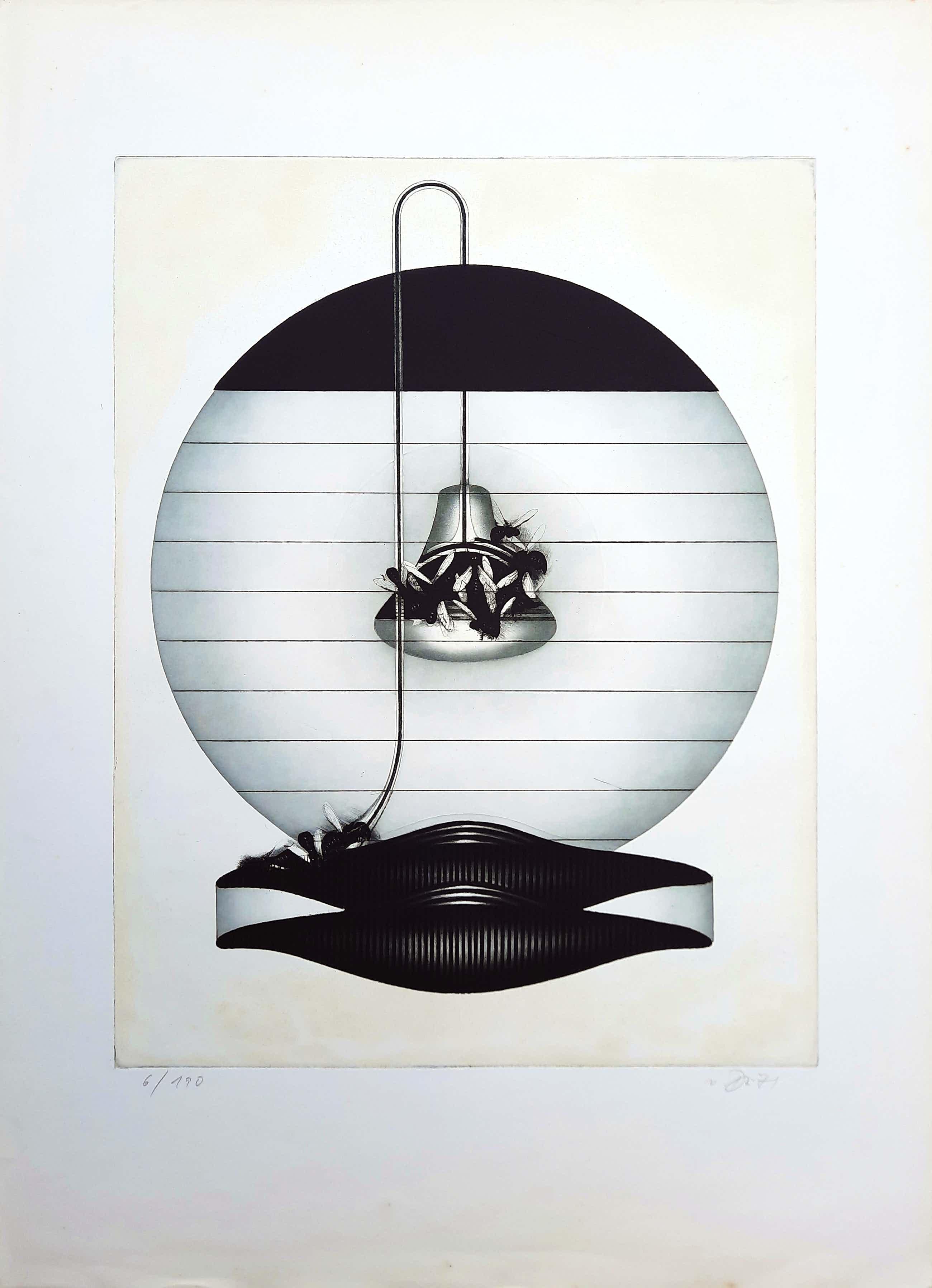 Gerd van Dulmen - Ets / aquatint: wespen - 1971 - 21925 kopen? Bied vanaf 50!