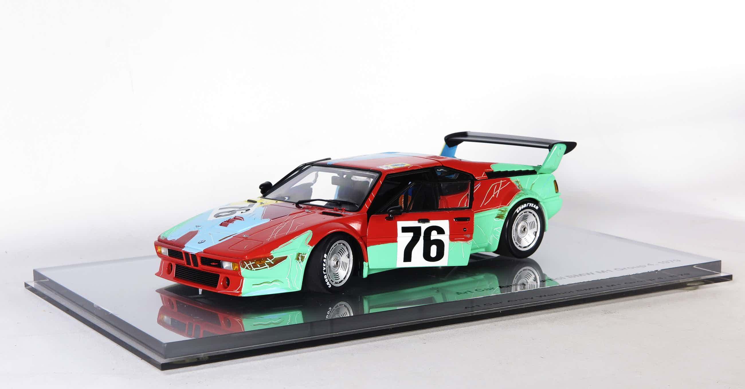 Andy Warhol - Art Car Andy Warhol BMW M1 Group 4, 1979 kopen? Bied vanaf 385!