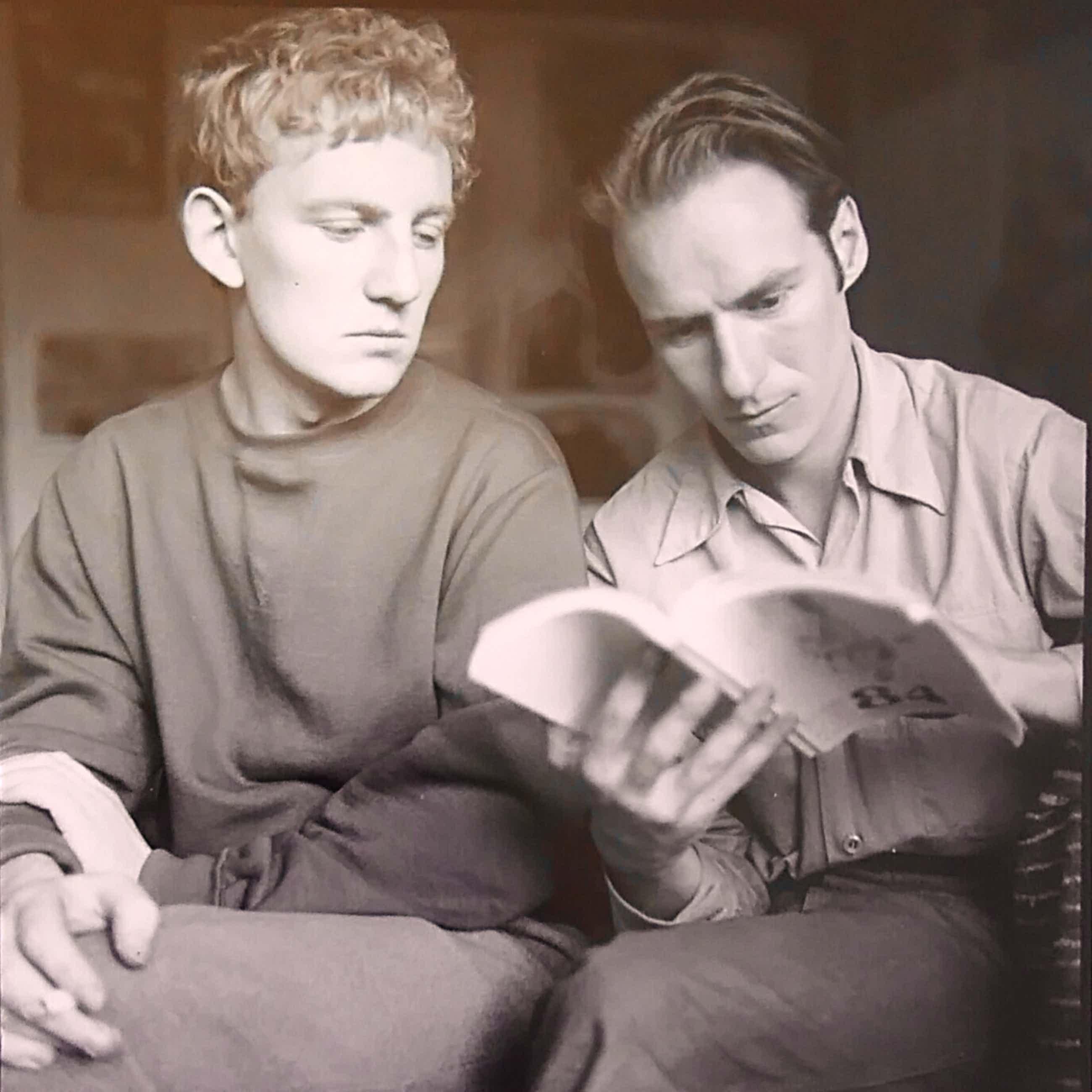Henny Riemens - Fotoportret Hugo Claus en Corneille 1951-54 kopen? Bied vanaf 50!