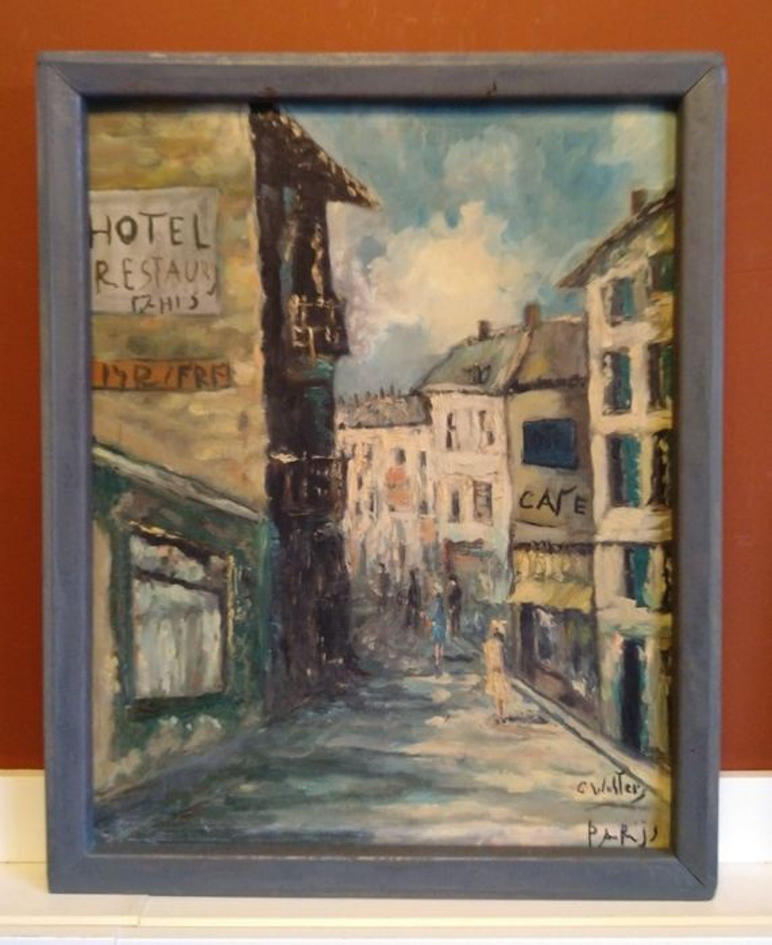 Clemens Wolters - (1875-1955) - Parijs - impressionistisch stadsgezicht kopen? Bied vanaf 1!