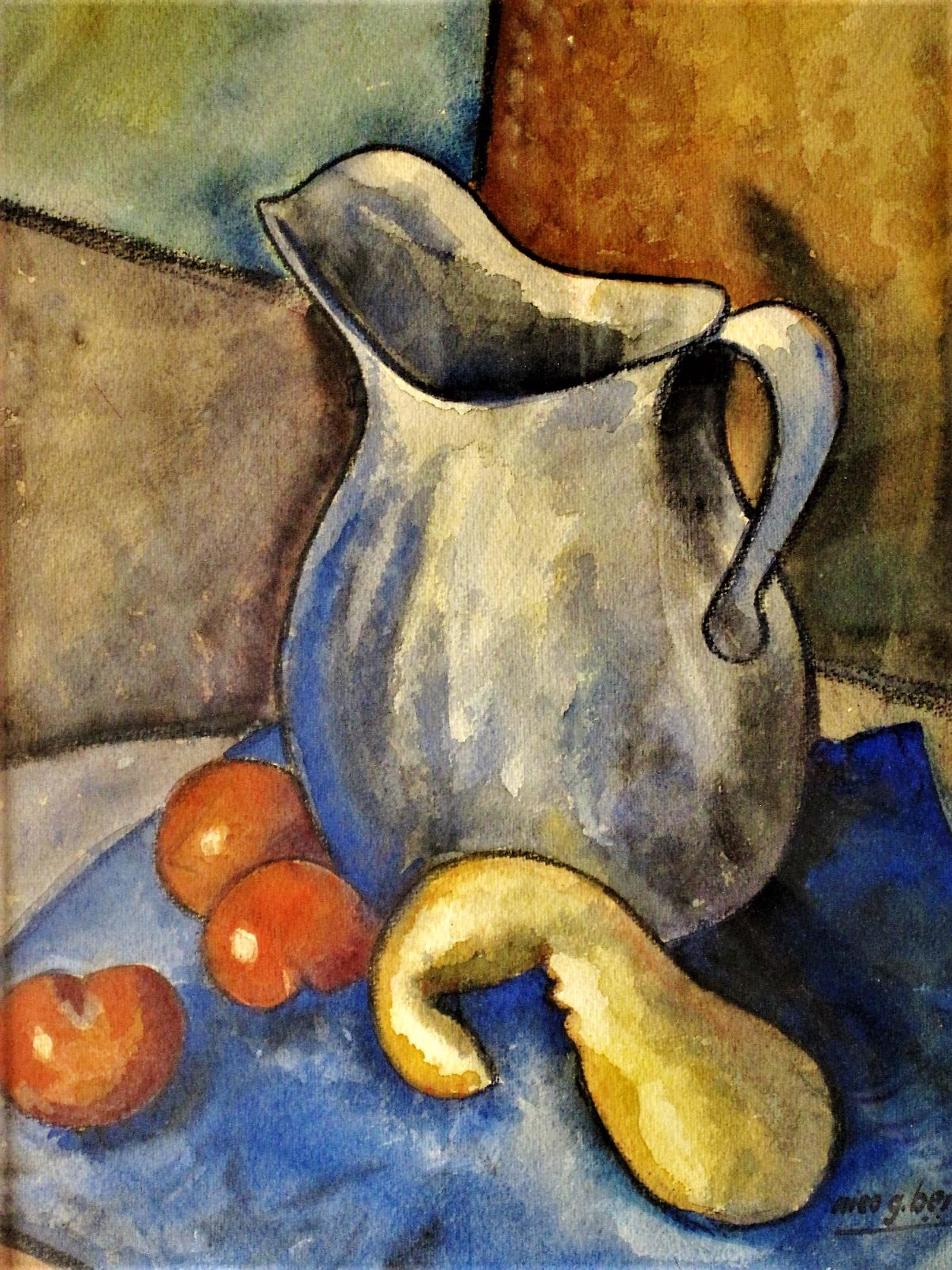Nico Berkhout - (Bergense School) schilderde dit stilleven in 1943 - gesigneerd kopen? Bied vanaf 40!
