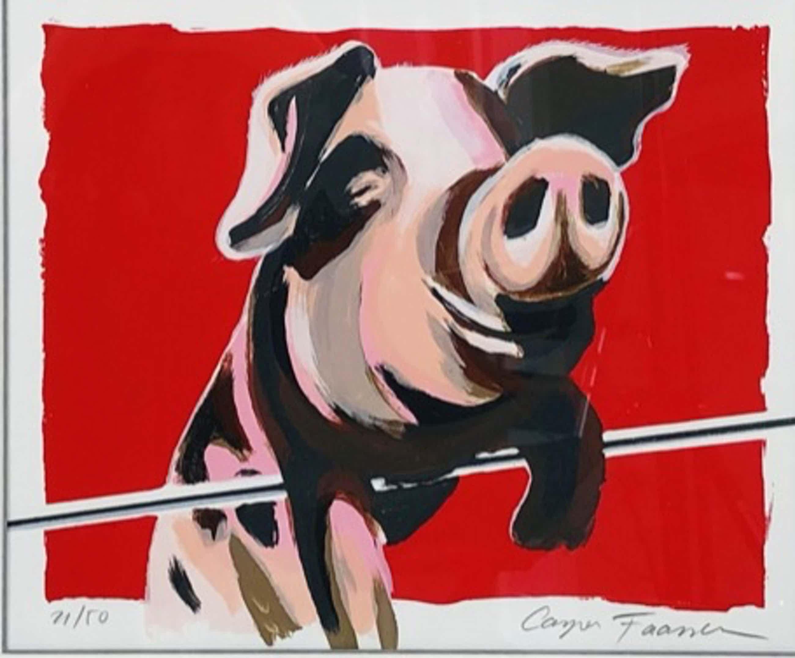 Casper Faassen - Piggy met fraaie lijst! kopen? Bied vanaf 145!