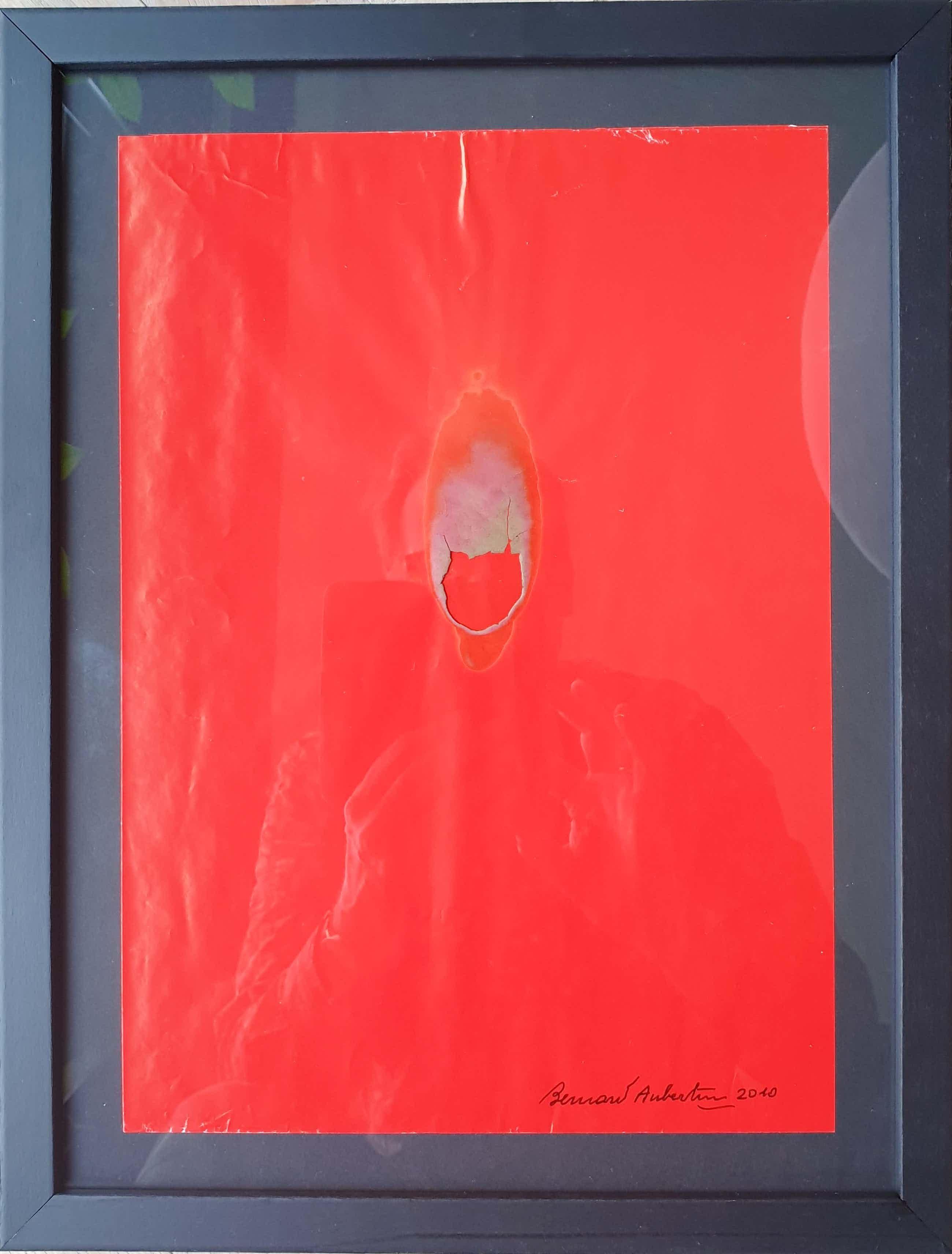 """Bernard Aubertin - """"Semena""""- Verbrand papier (Pyrografie) - 2010 - Certificaat kopen? Bied vanaf 125!"""