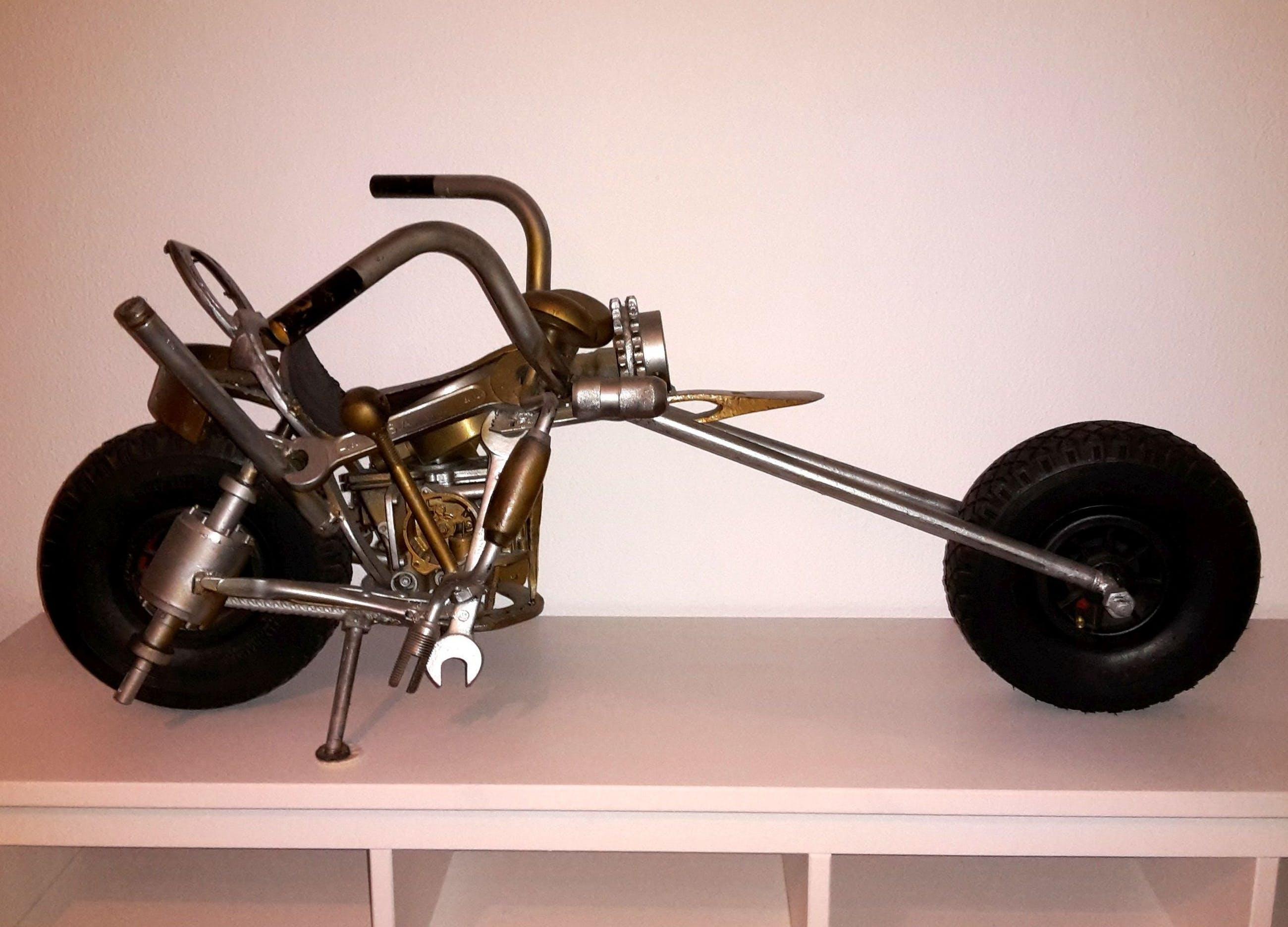 Herman Brood - Motorbike kopen? Bied vanaf 1000!
