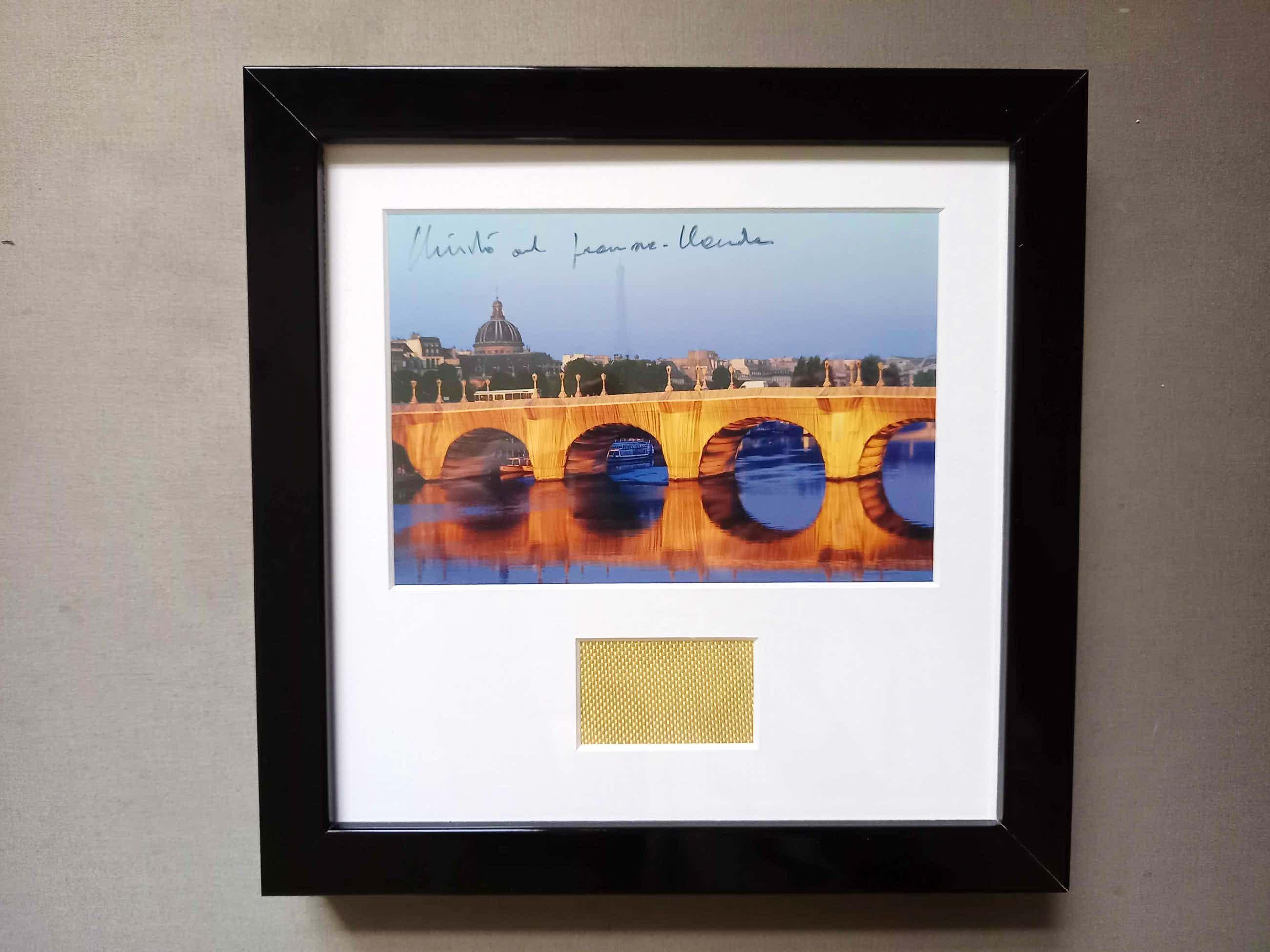 Christo - & Jeanne-Claude The Pont Neuf Wrapped Paris kopen? Bied vanaf 119!