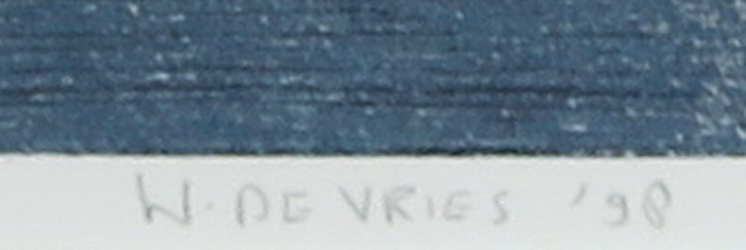 Willem de Vries - Houtsnede, Sussex XIII - Ingelijst kopen? Bied vanaf 20!