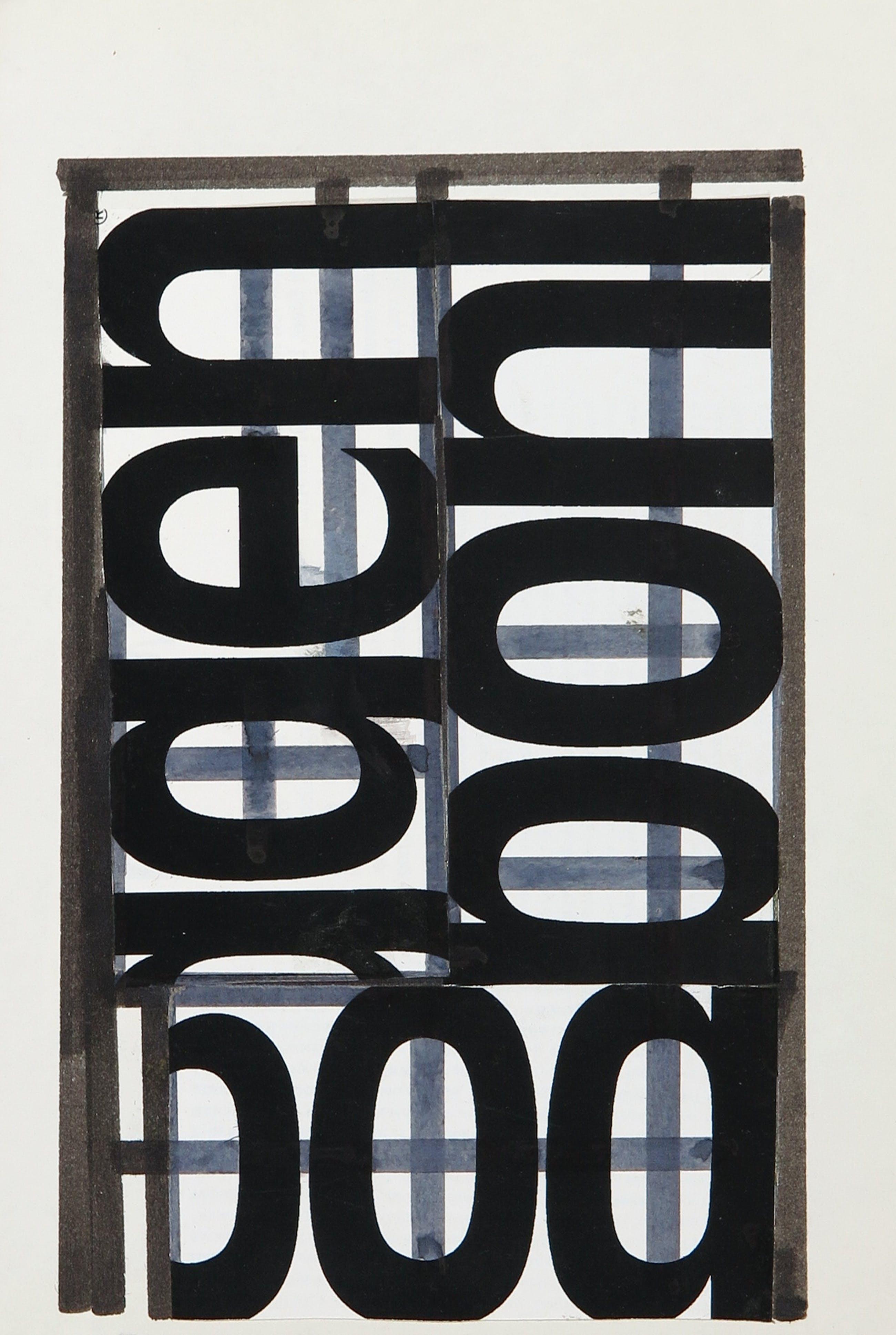 Siep van den Berg - Collage, Abstracte compositie kopen? Bied vanaf 35!
