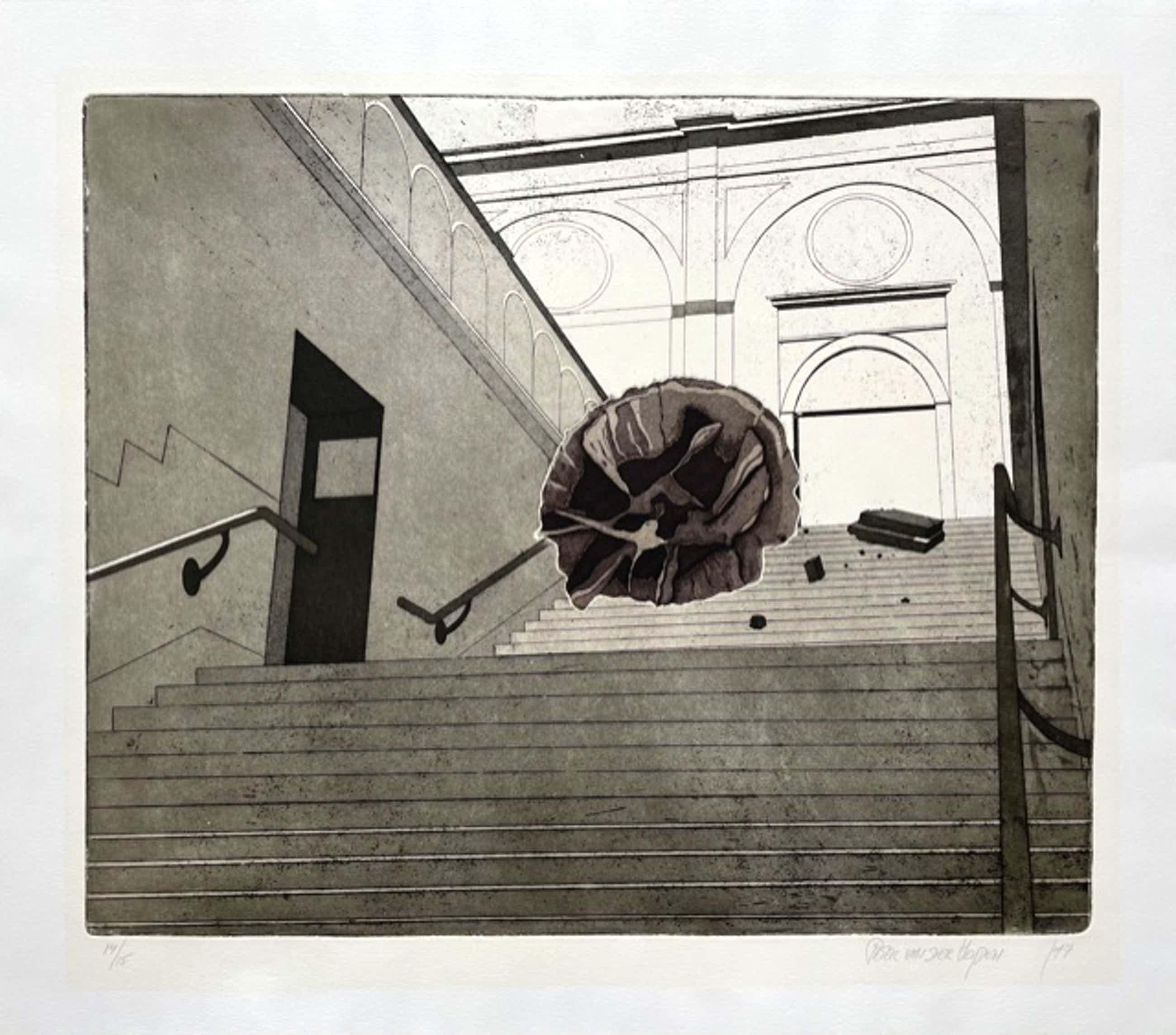 Peter van der Heijden - Oude trap Stedelijk Museum Amsterdam kopen? Bied vanaf 50!