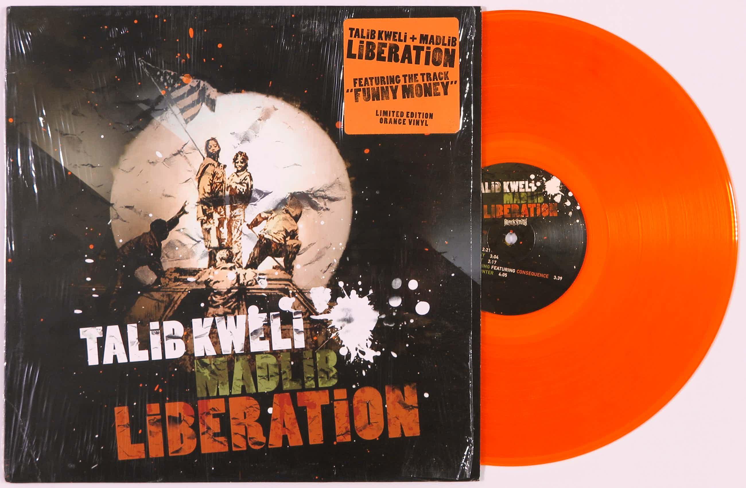 Banksy - Limited edition album Liberation van Talib Kweli & Madlib kopen? Bied vanaf 100!