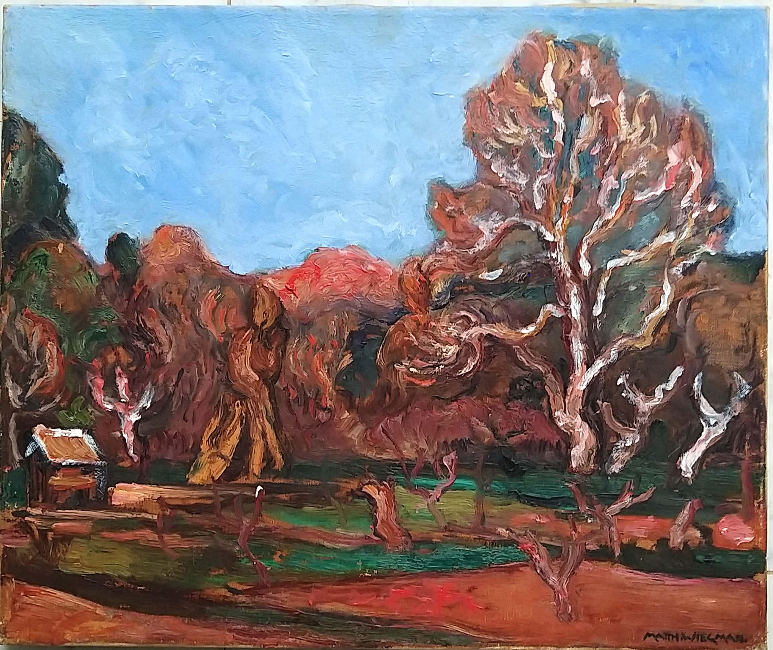 Matthieu Wiegman - Frans landschap net bomen kopen? Bied vanaf 1875!
