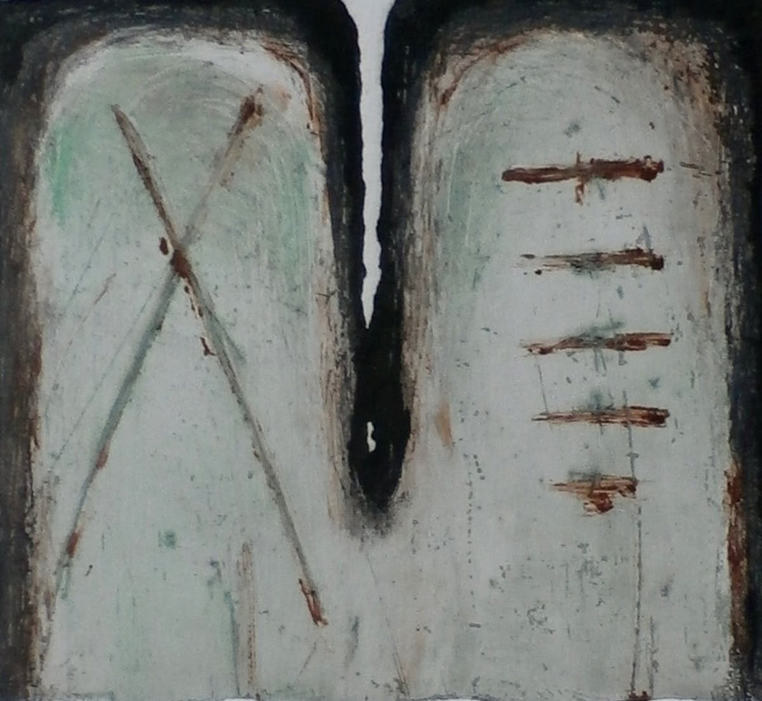 "Madeleine Leddy - Ets/Aquatint - ""Codex"" - 1988 kopen? Bied vanaf 50!"