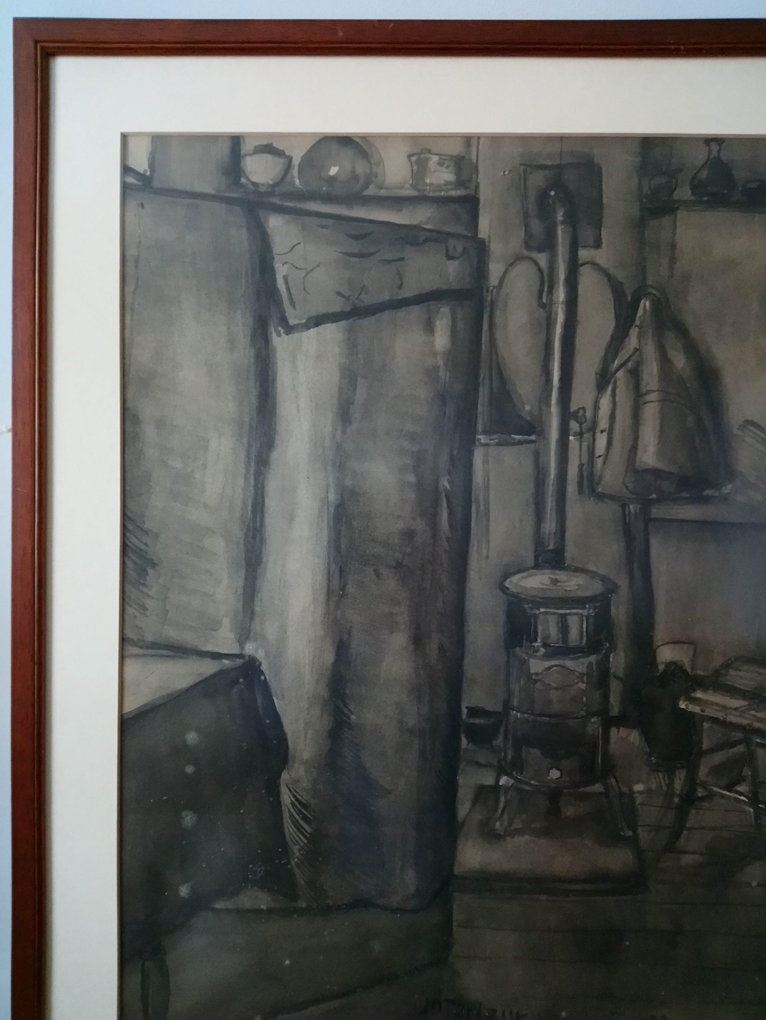 Chris Jansen - Interieur van het atelier kopen? Bied vanaf 40!