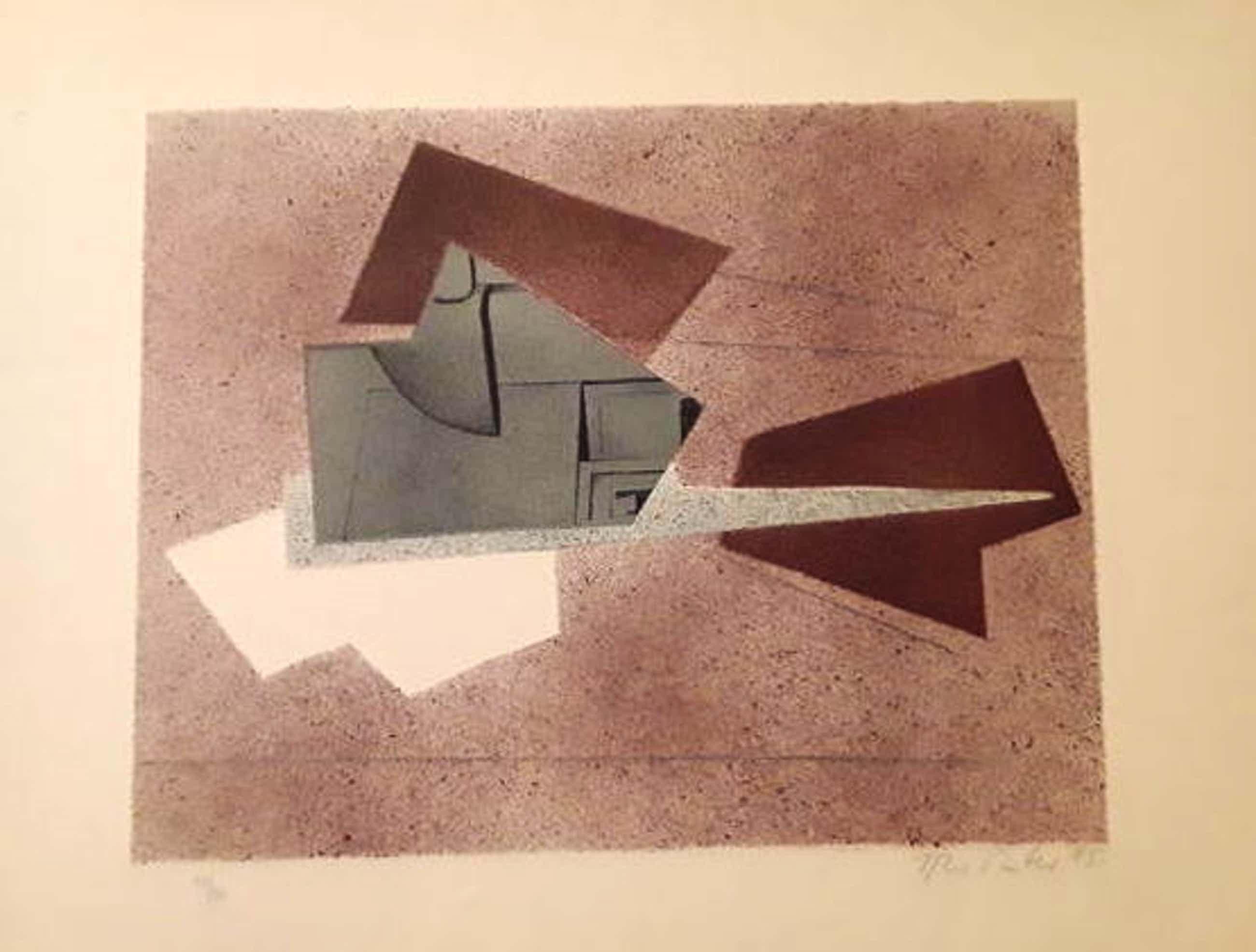 Hans Richter - Composition 1975 - Lithografie 50/90 kopen? Bied vanaf 420!