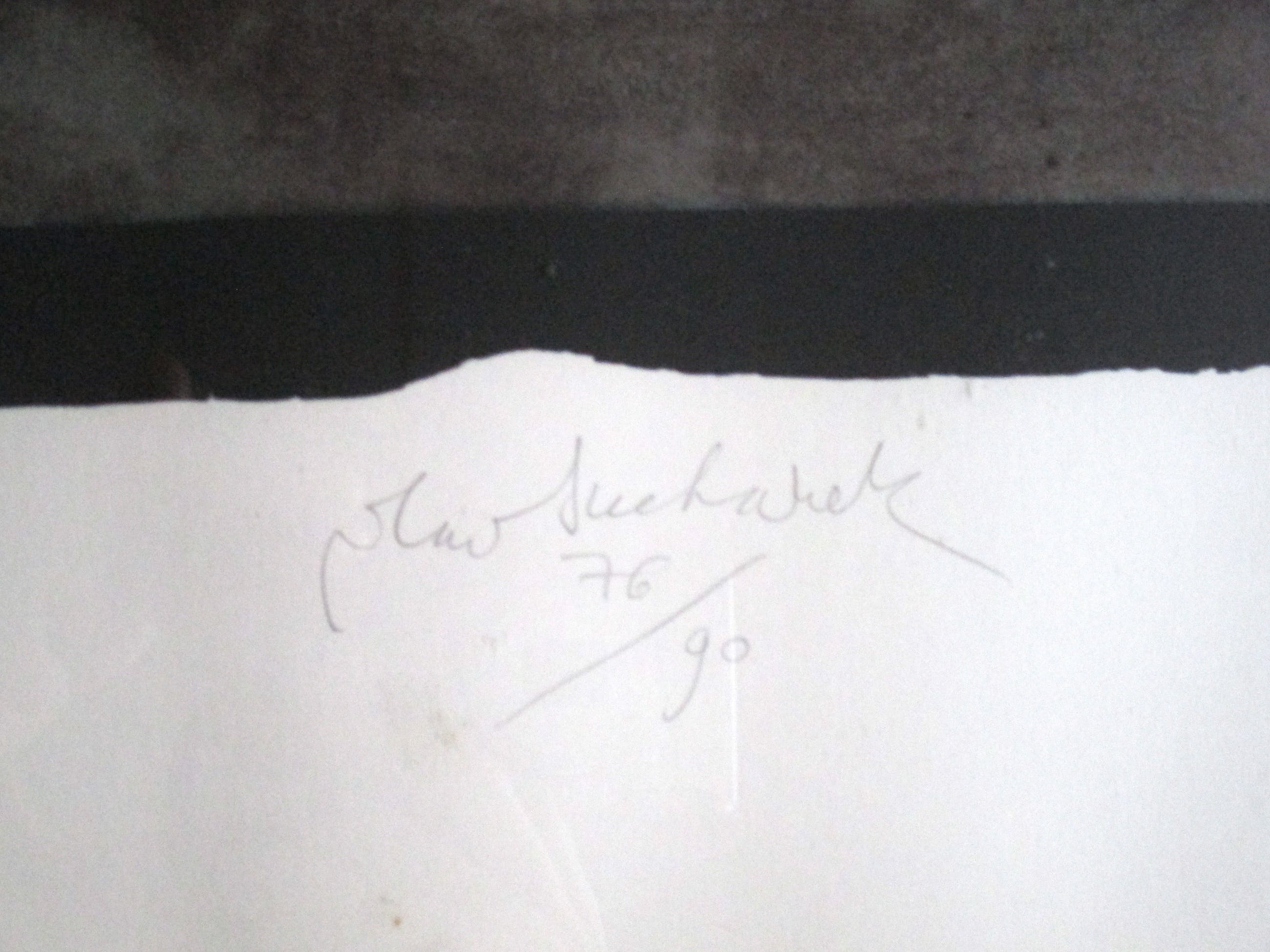 Vladimir Suchanek - Ingelijste zeefdruk Louis Armstrong kopen? Bied vanaf 40!