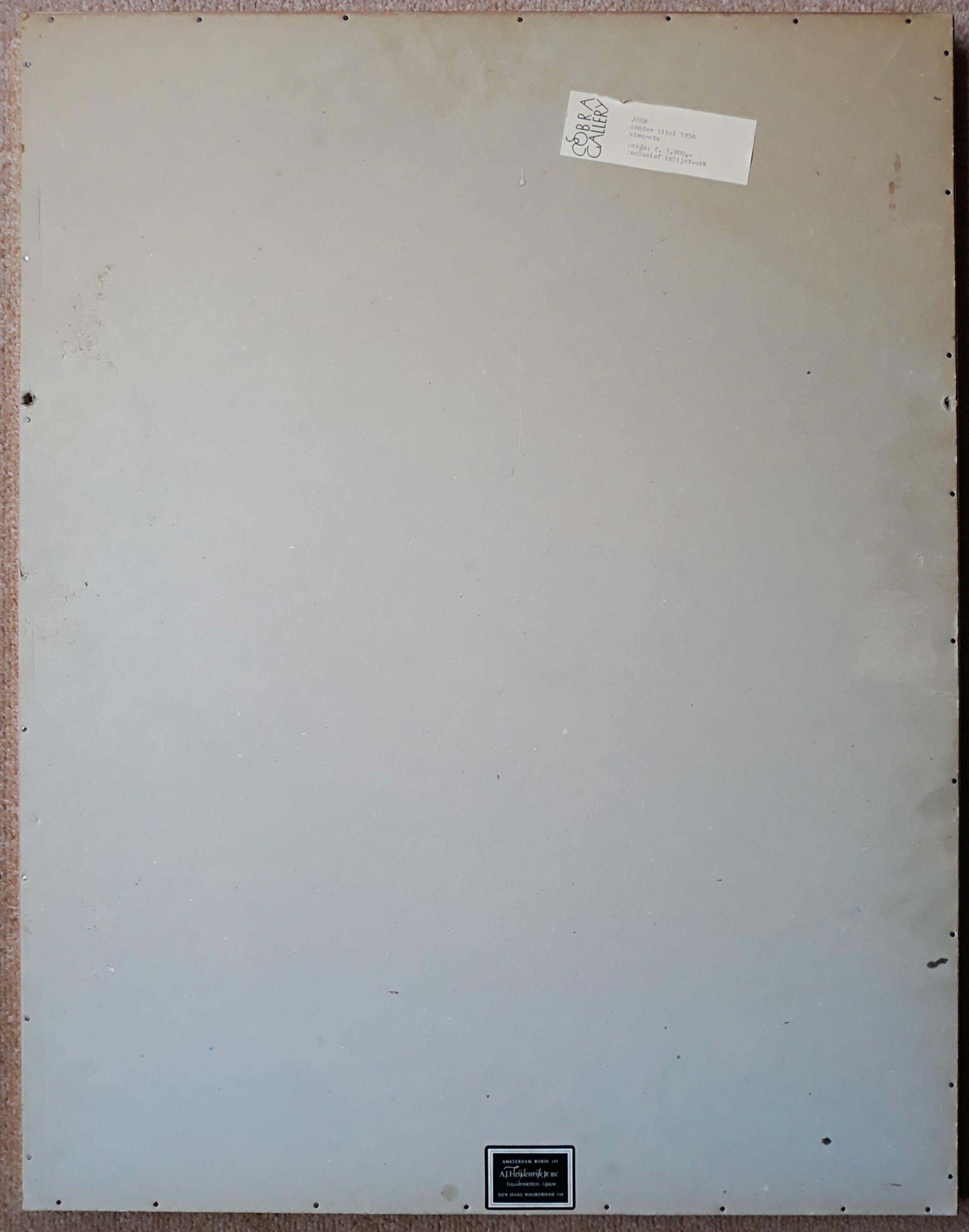 Asger Jorn - Compositie, 1959, ets (ingelijst) kopen? Bied vanaf 595!