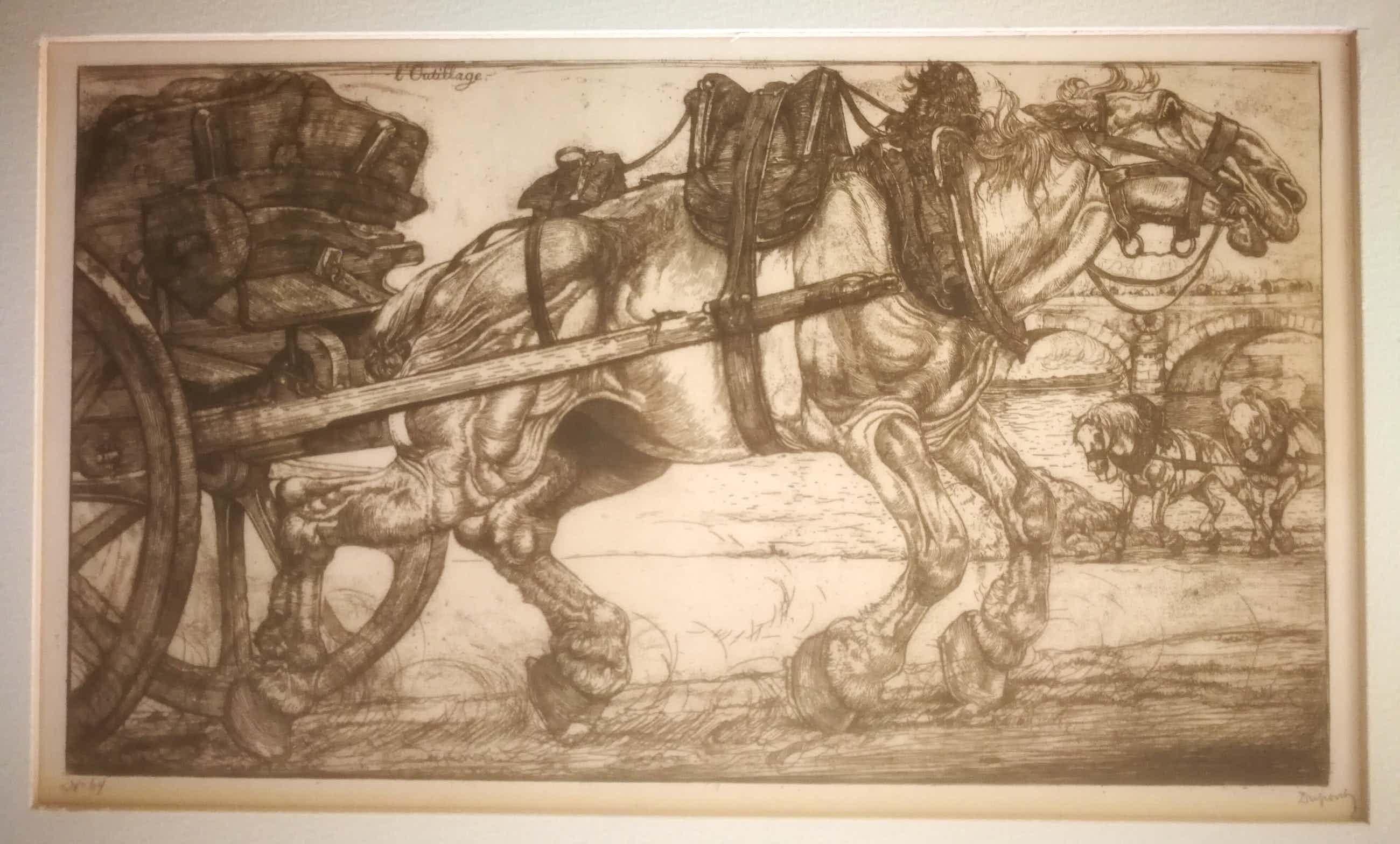 Pieter Dupont - Karrepaard. 1900 kopen? Bied vanaf 99!