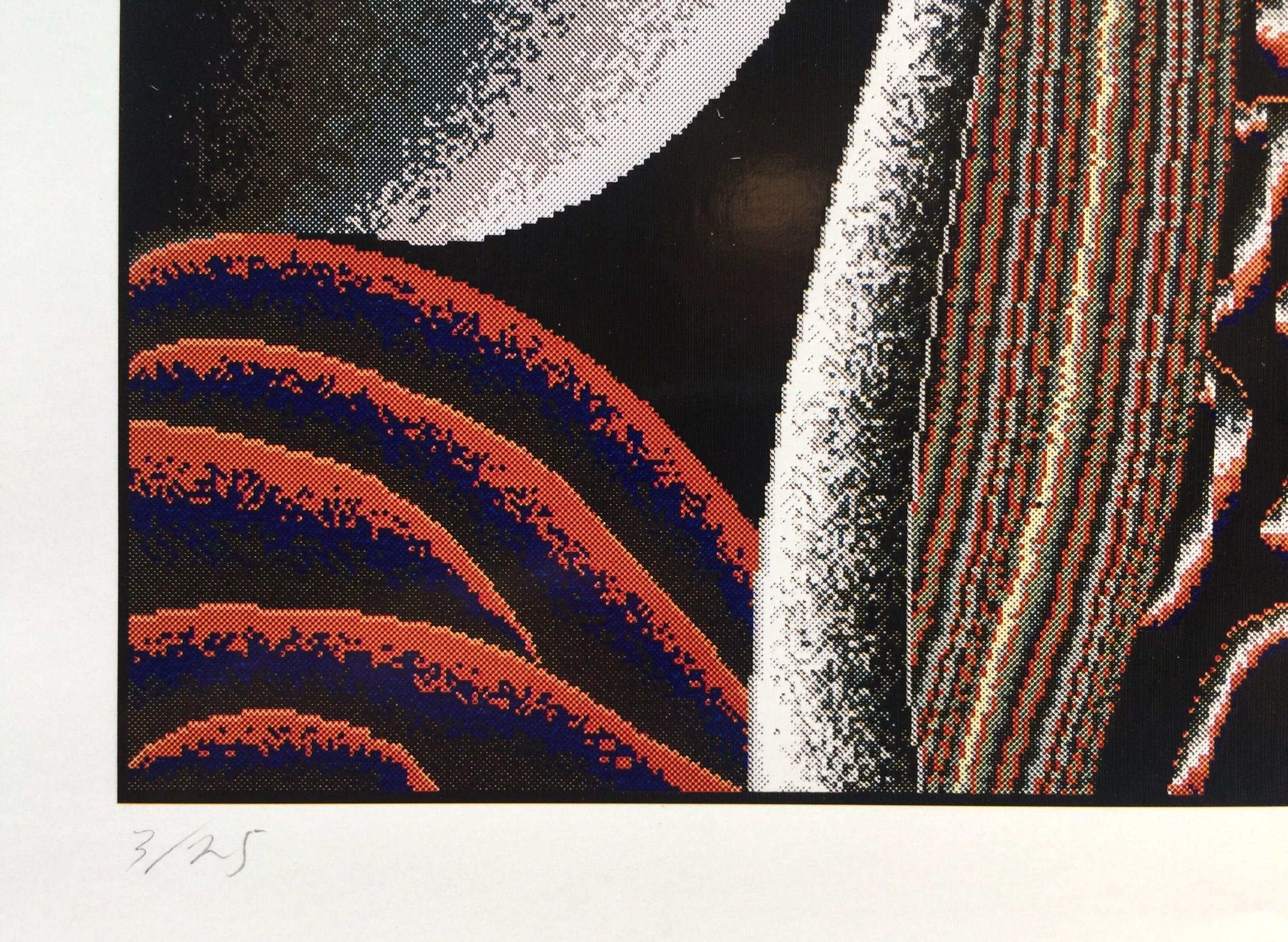 Shinkichi Tajiri - zeldzame knoop - gesigneerde computerprint - incl. originele bewaarmap kopen? Bied vanaf 150!