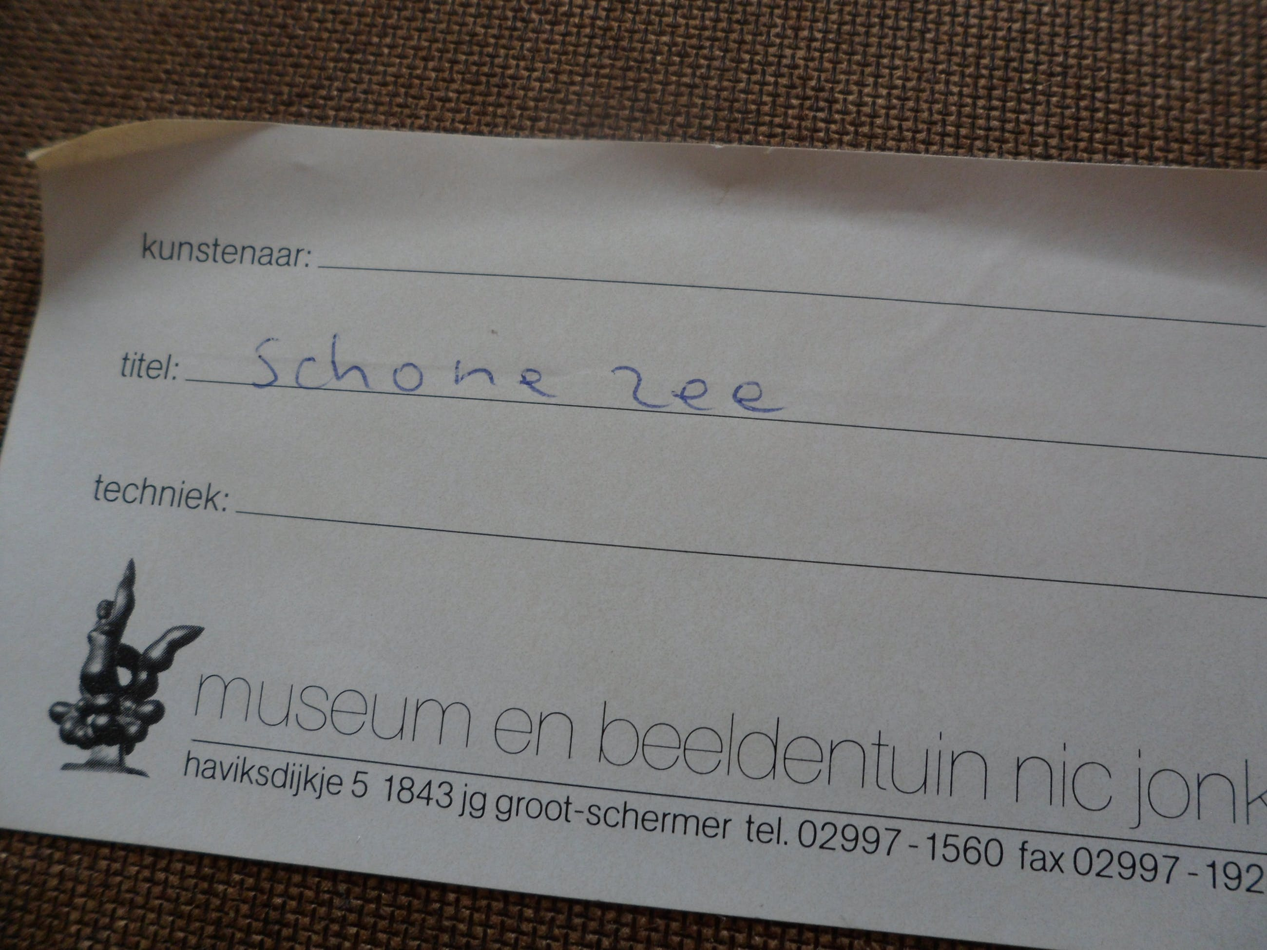 """Nic Jonk - Zeefdruk, Titel, """"Schone lucht"""". - Ingelijst groot. kopen? Bied vanaf 120!"""