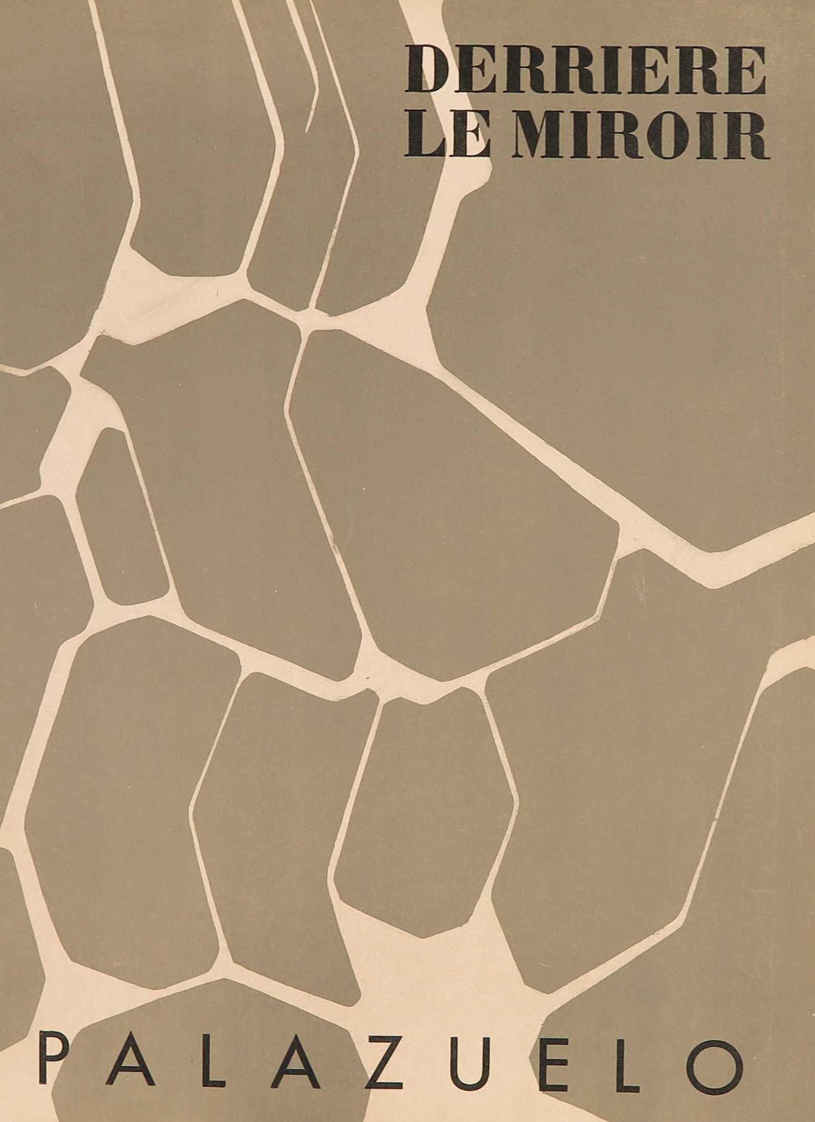 Pablo Palazuelo - Uitgave Derrière le miroir met originele litho, no. 104 (1958) kopen? Bied vanaf 20!