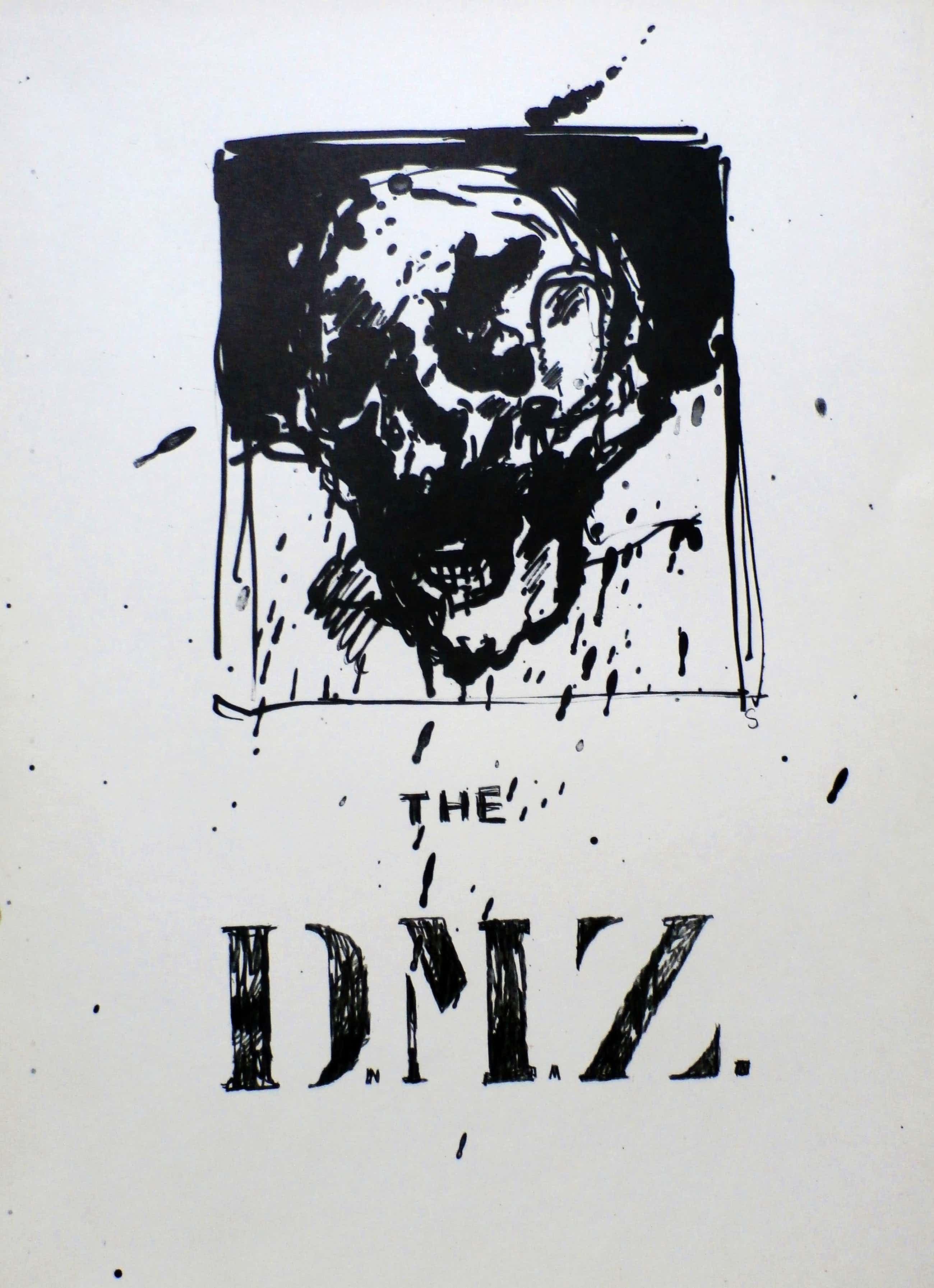 Willem Snitker - litho: The DMZ - 1975 kopen? Bied vanaf 35!