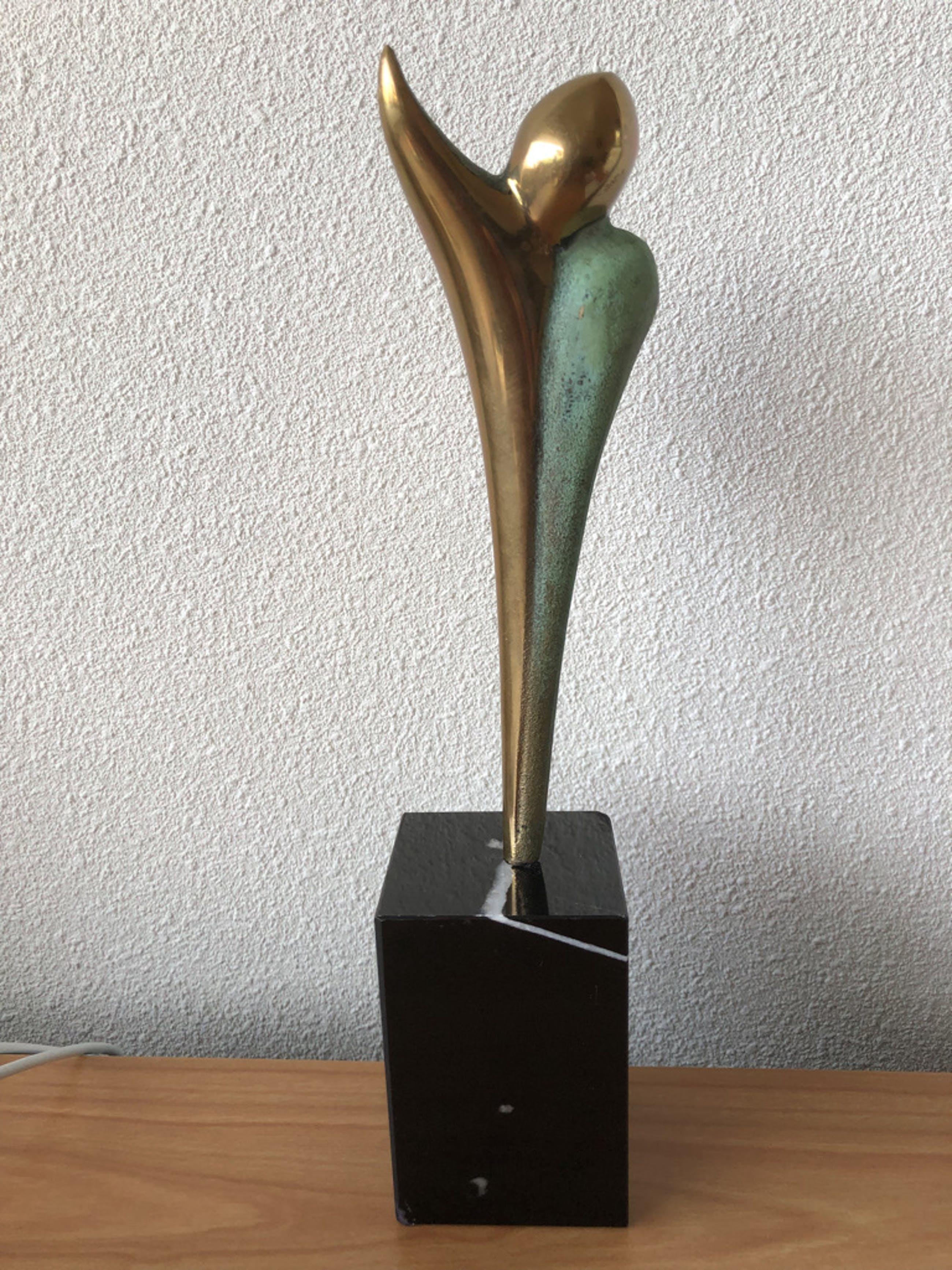 """Ruurd Hallema - Prachtig bronzen beeld met de titel """" ADIEU """" kopen? Bied vanaf 190!"""