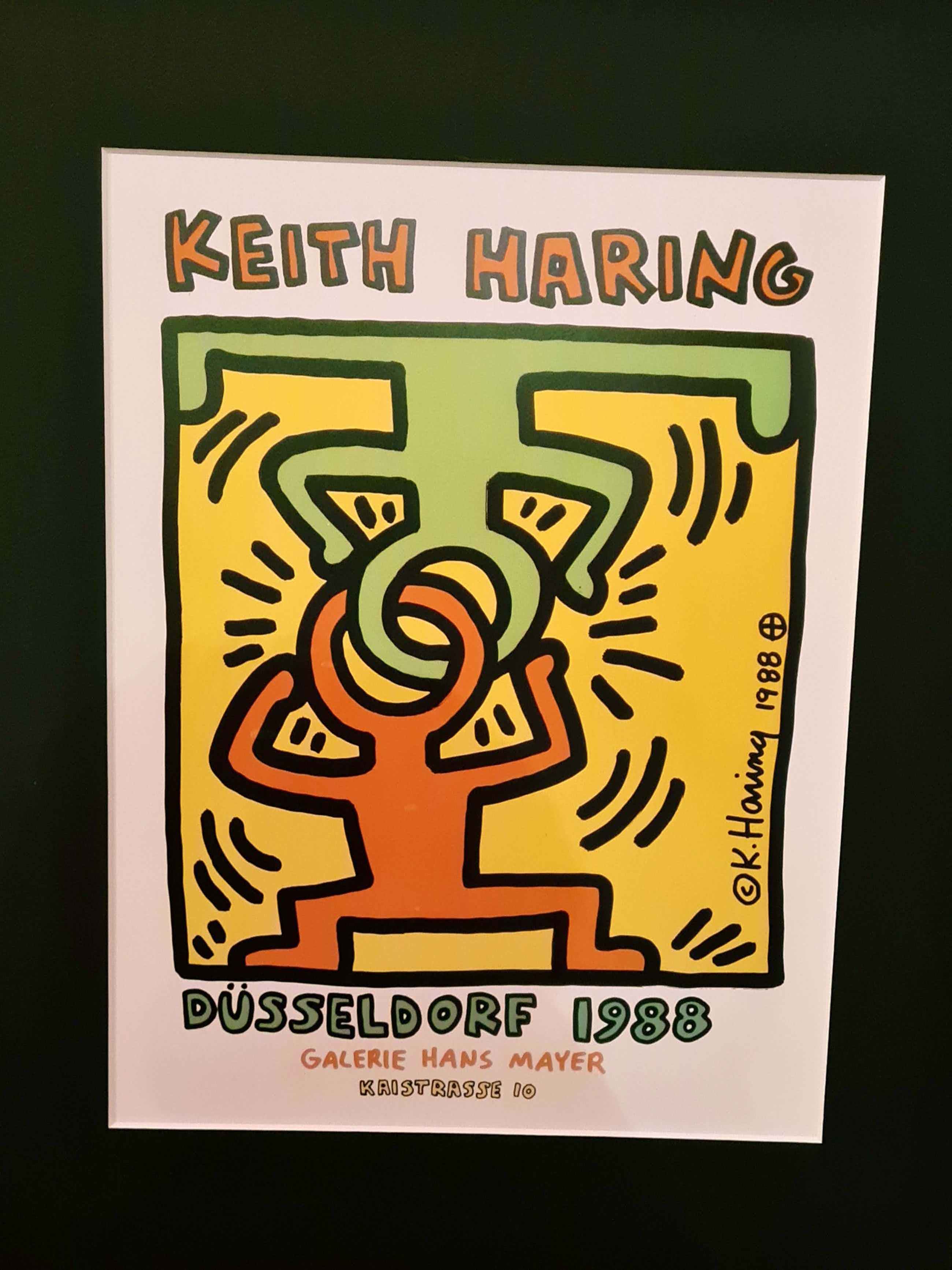 Keith Haring - Dusseldorf 1988/ A milano salvatore kopen? Bied vanaf 110!