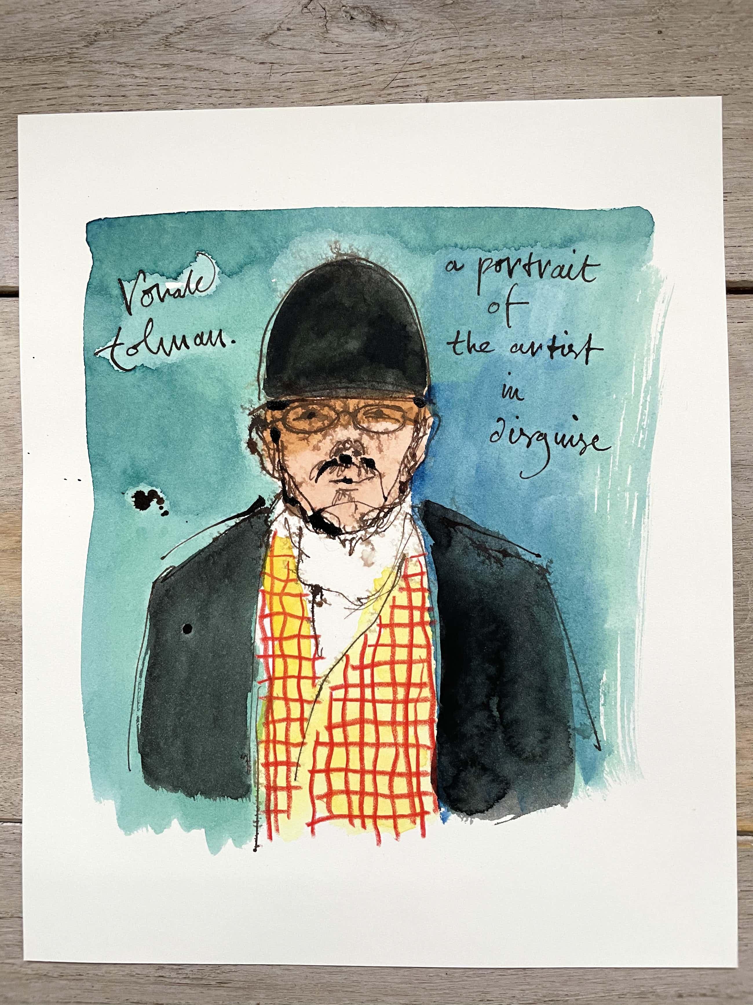 Ronald Tolman - A portrait of the artist in disquise kopen? Bied vanaf 127!