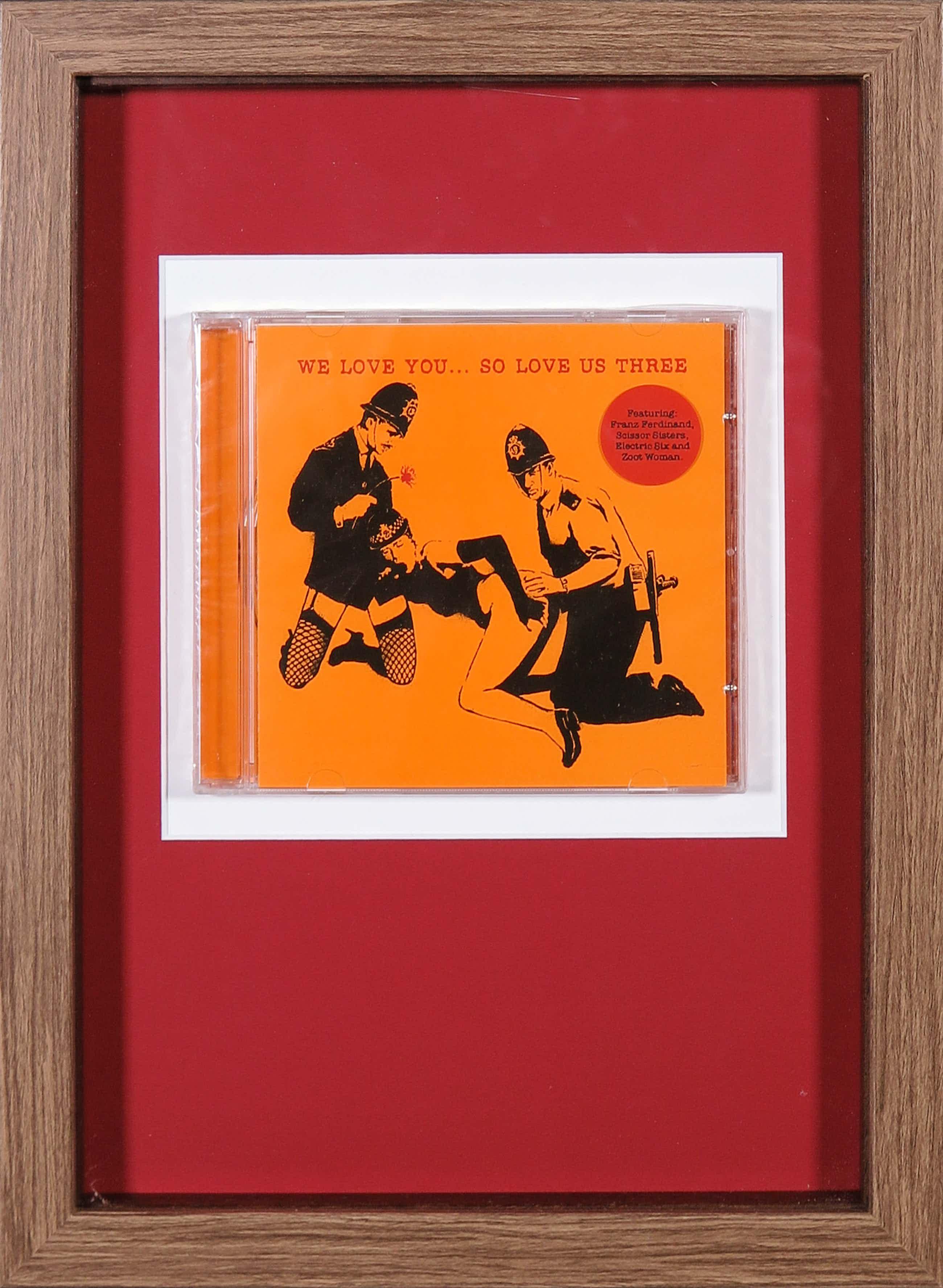 Banksy - We love you... so love us three (CD) kopen? Bied vanaf 51!