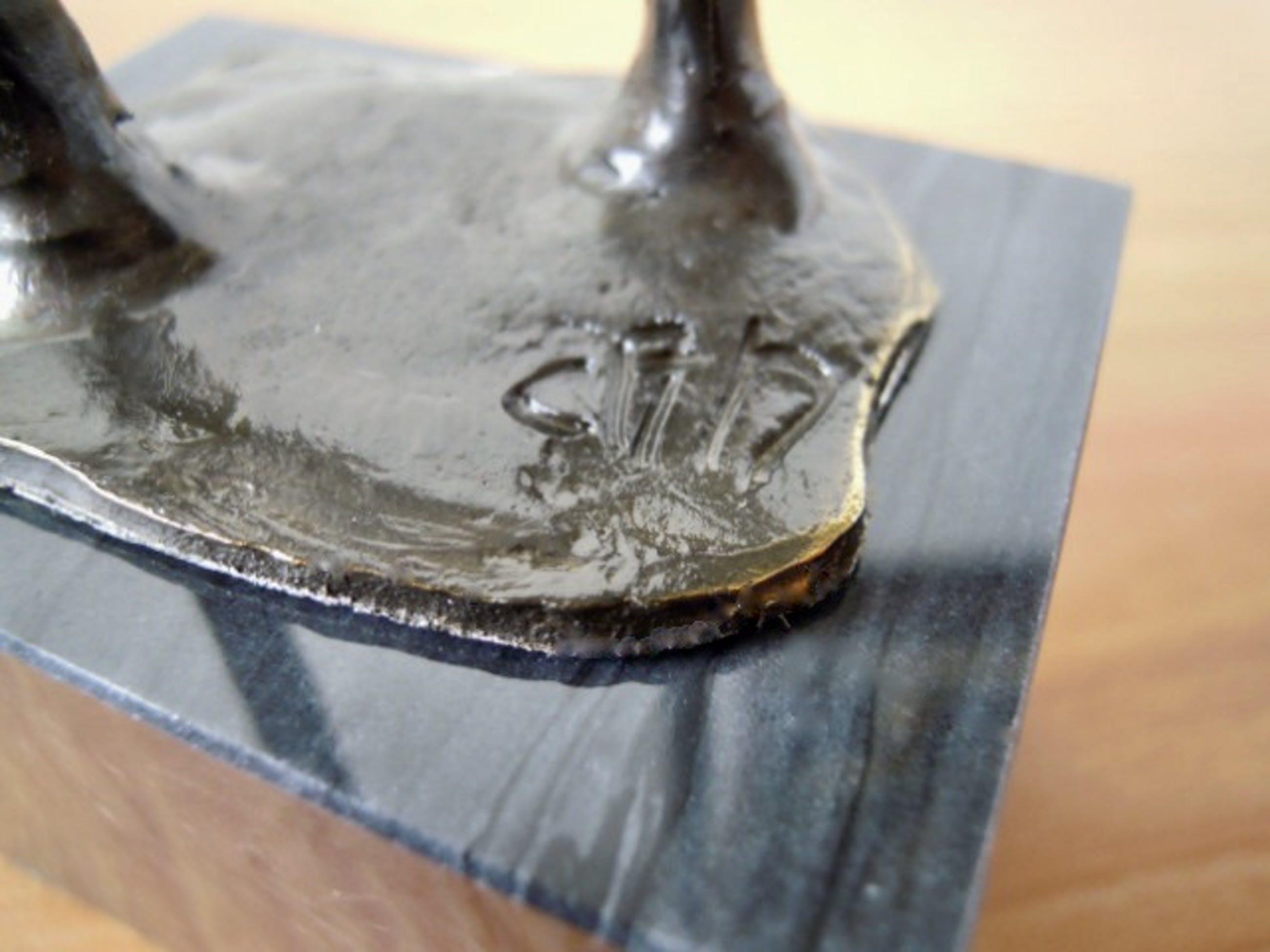 """Corry Ammerlaan - Prachtig beeldje op sokkel """" BEDANKT """" kopen? Bied vanaf 35!"""