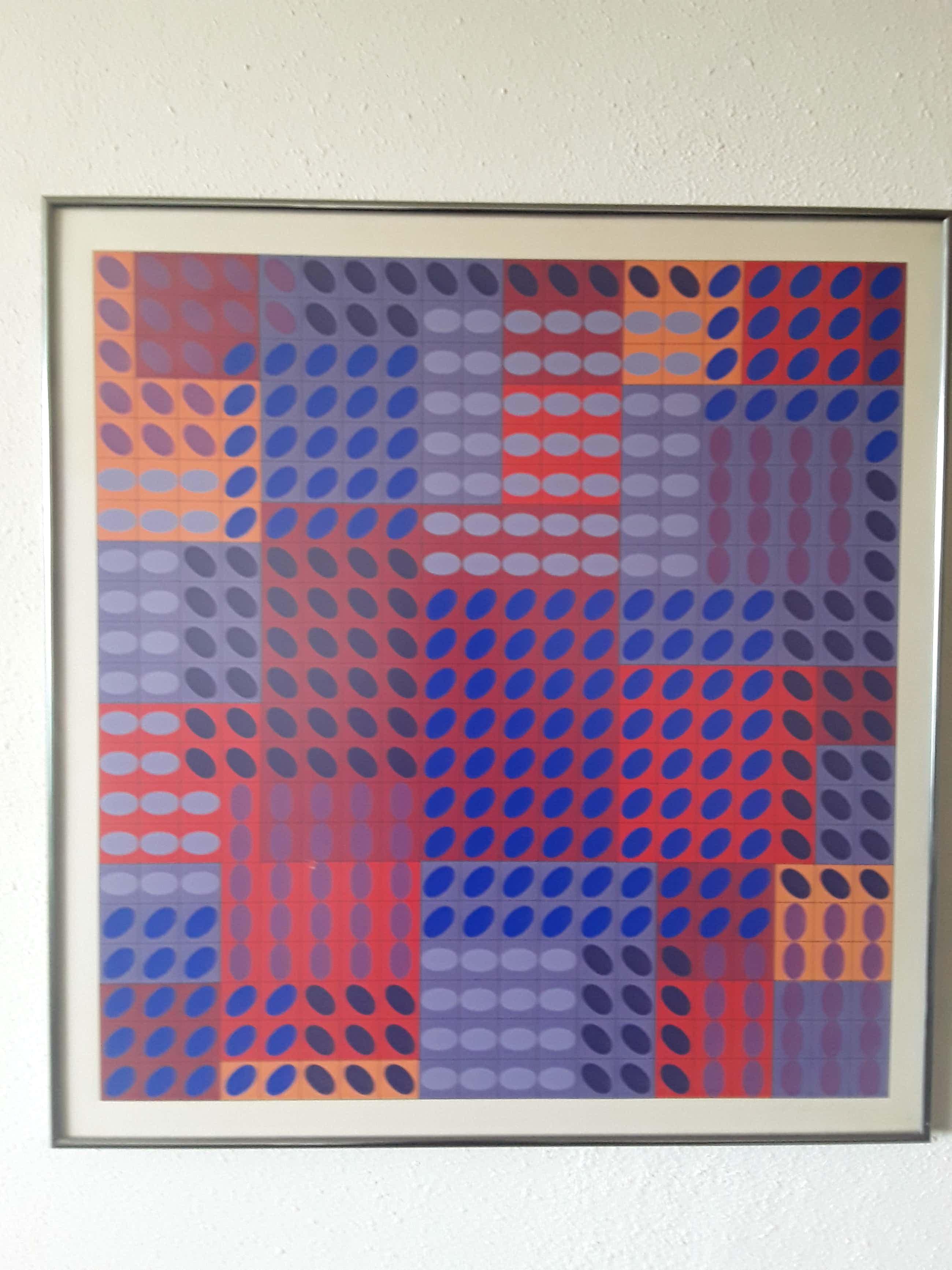 Victor Vasarely - Een exemplaar uit de serie 199 kopen? Bied vanaf 400!
