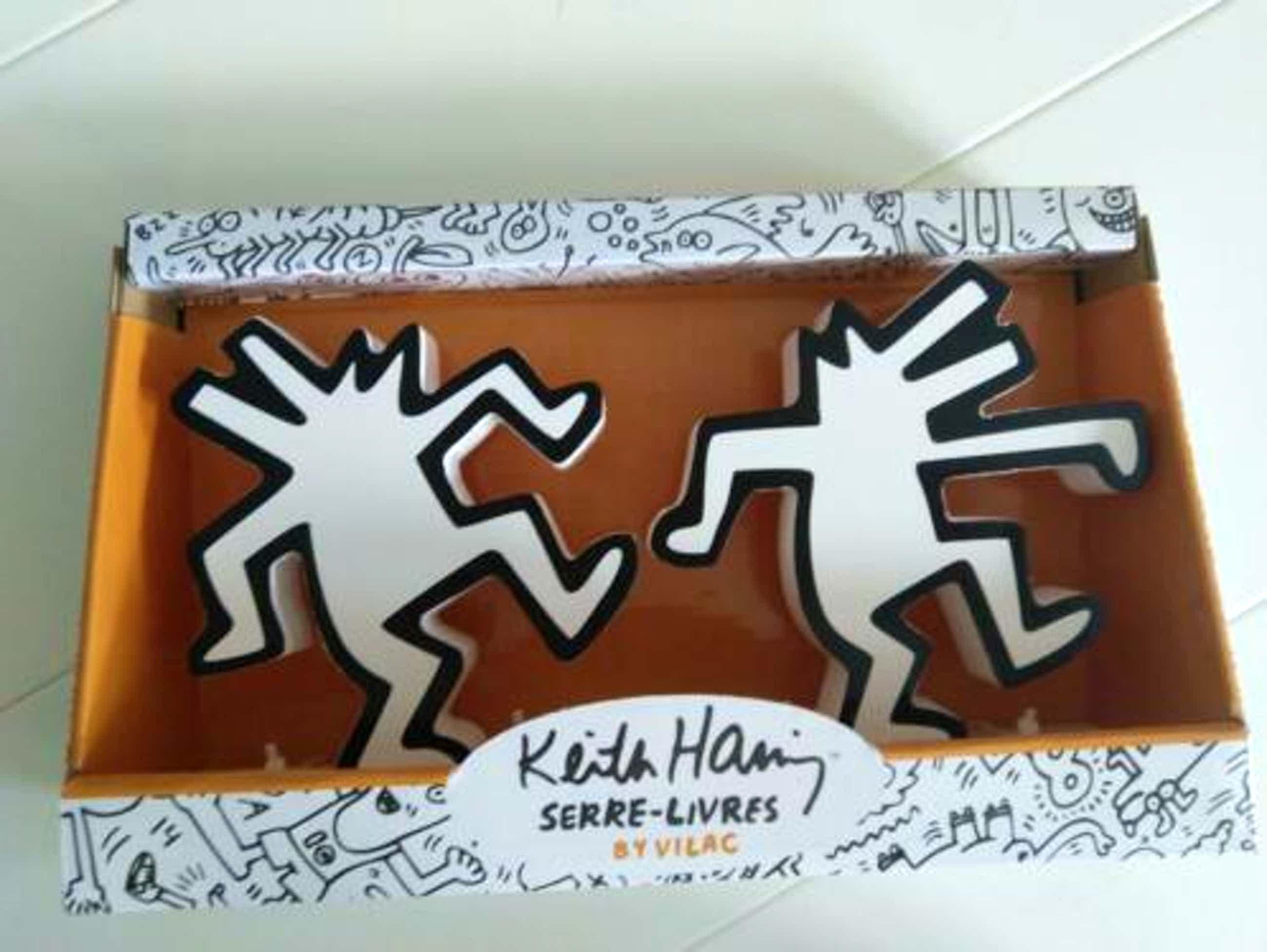 Keith Haring - boekensteunen / book stands kopen? Bied vanaf 80!