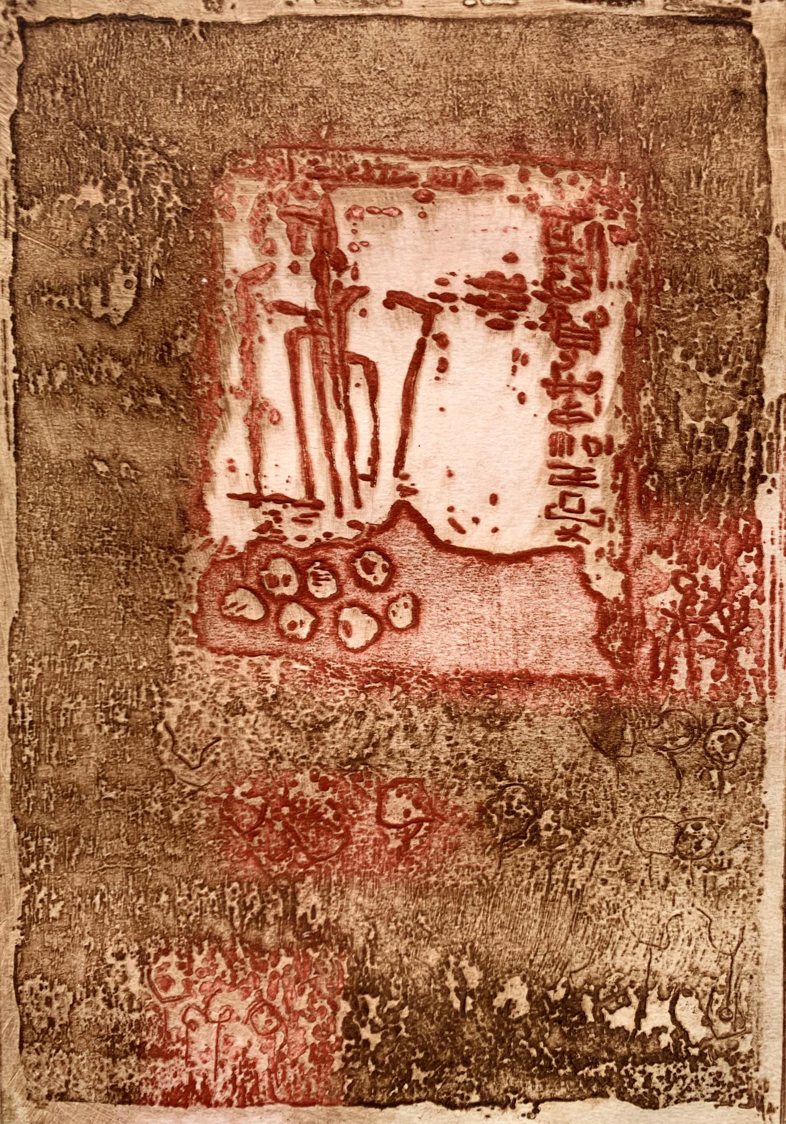 Jan Montyn - kleurenets - zonder titel - 2000 (Eerste afdruk van een editie van 50 ex.) kopen? Bied vanaf 100!