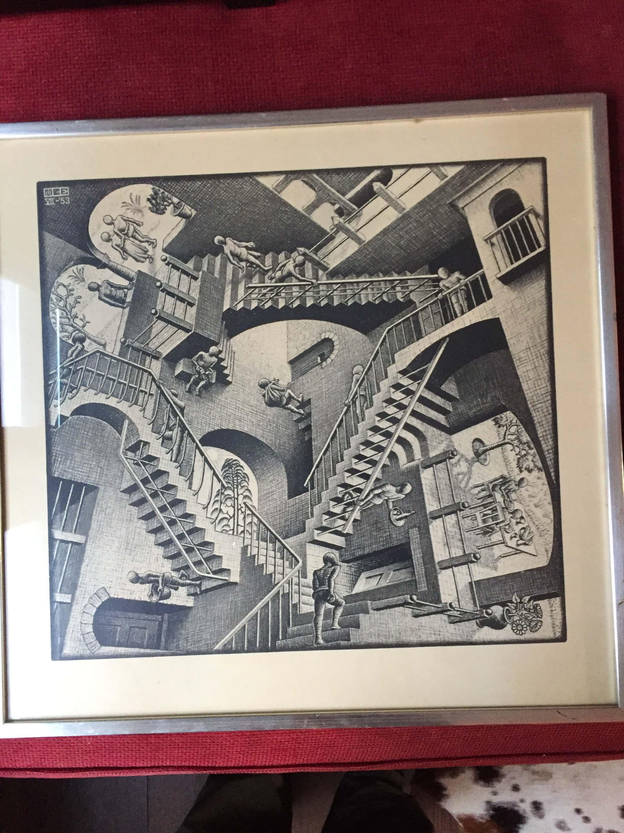 M.C. Escher - Relativiteit kopen? Bied vanaf 160!