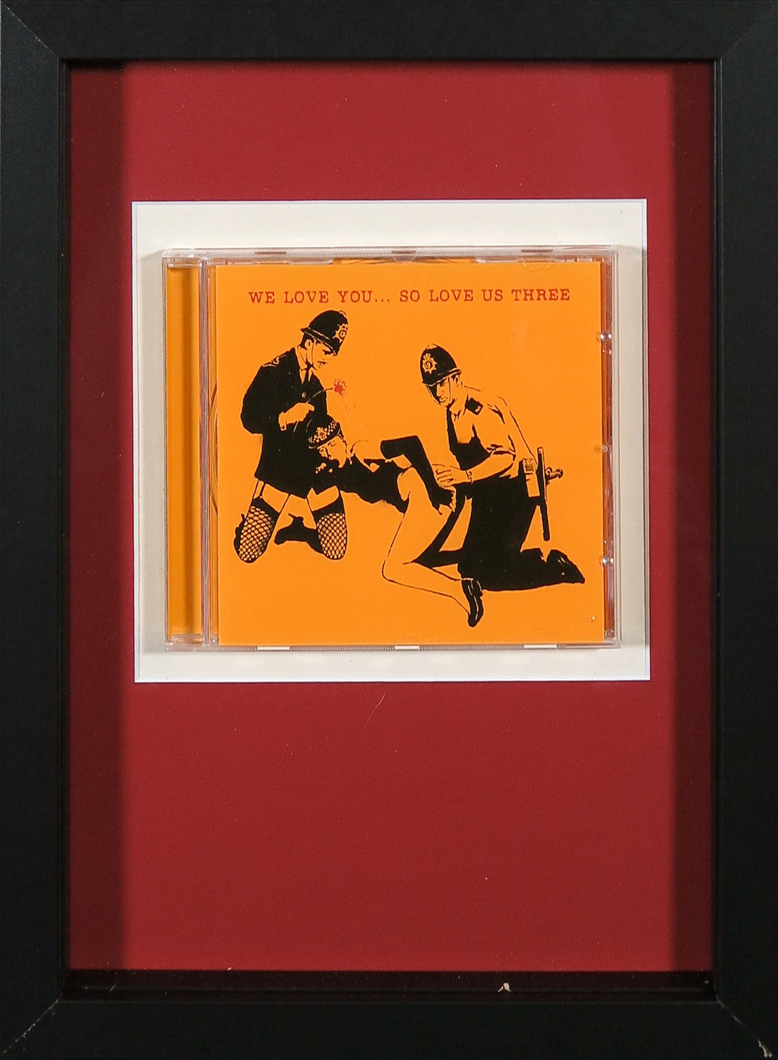 Banksy - We love you... so love us three (CD) kopen? Bied vanaf 60!