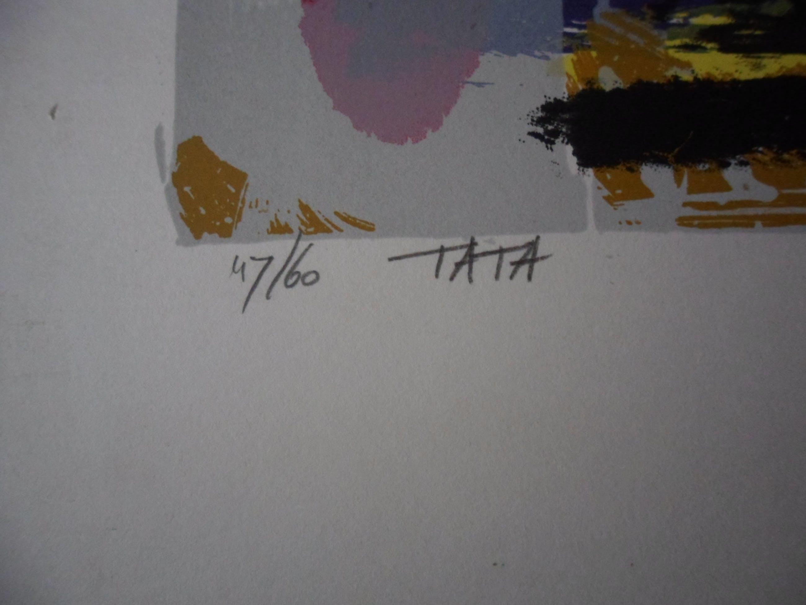 Siebrand Weitenberg - Zeefdruk, Titel, Ta Ta, uit 1991 kopen? Bied vanaf 25!