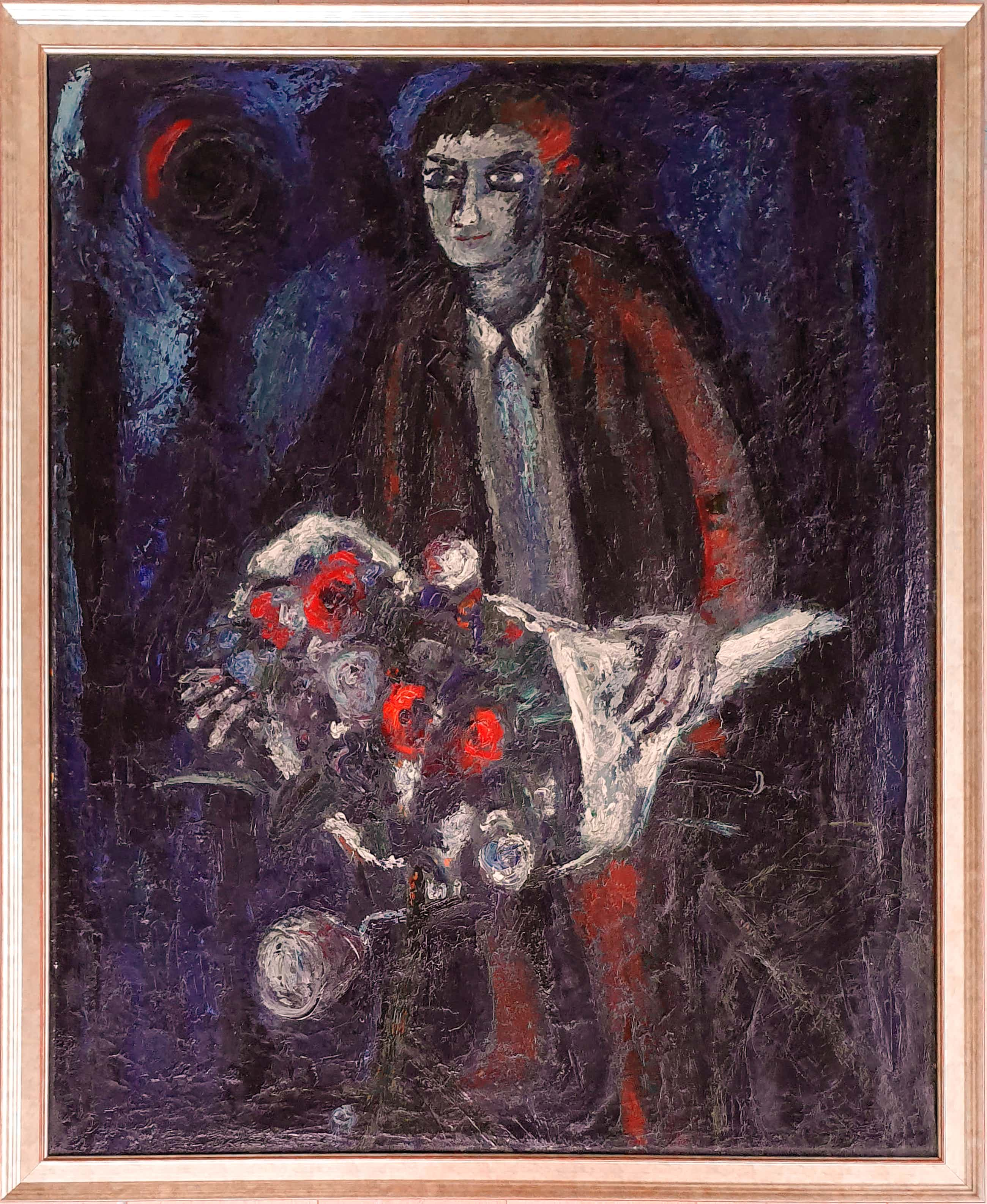 Theo van der Horst - Met bloemen op de fiets kopen? Bied vanaf 210!