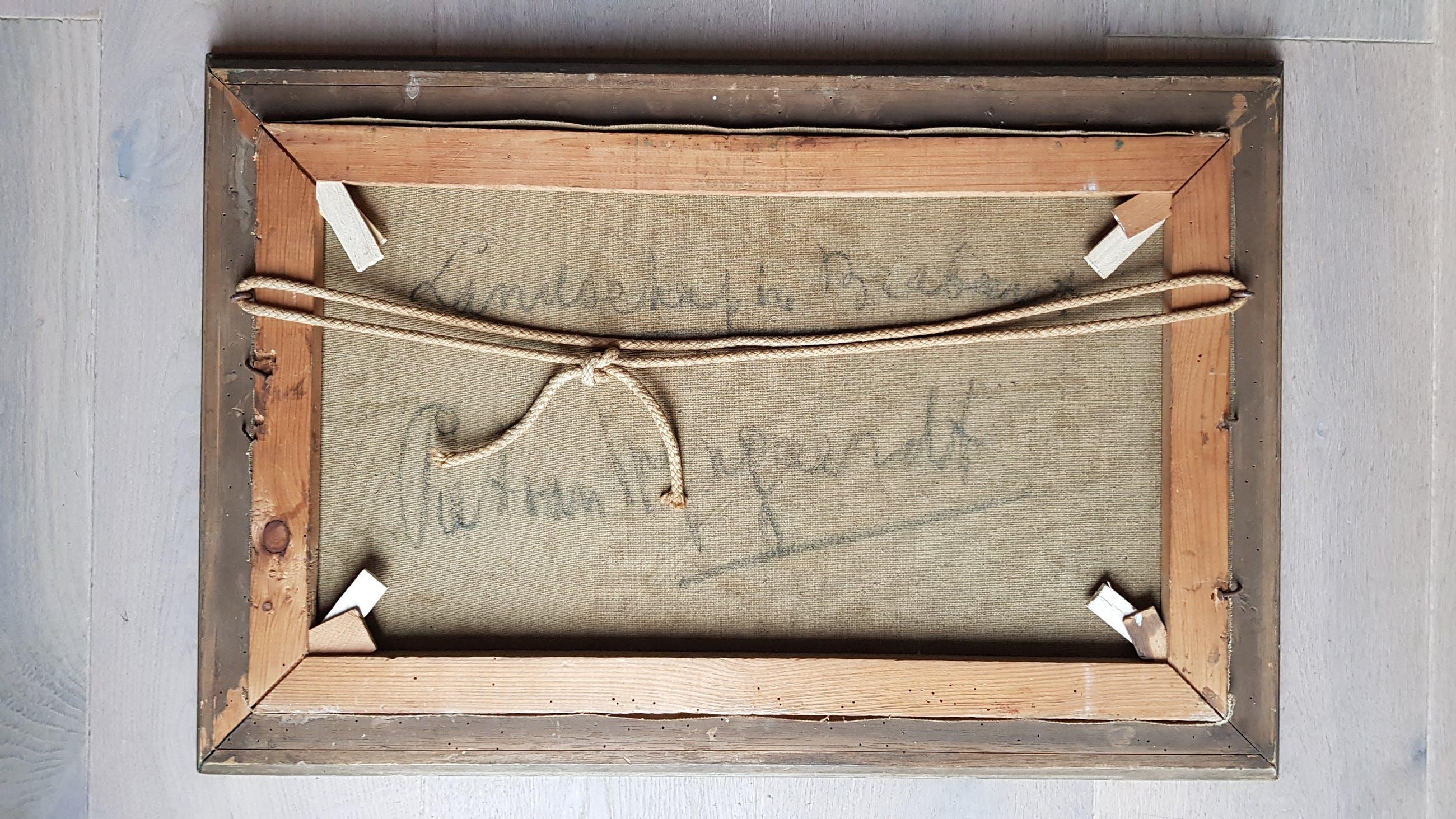Piet van Wijngaerdt - Landschap van Brabant, olie op doek, gesigneerd en verso kopen? Bied vanaf 199!