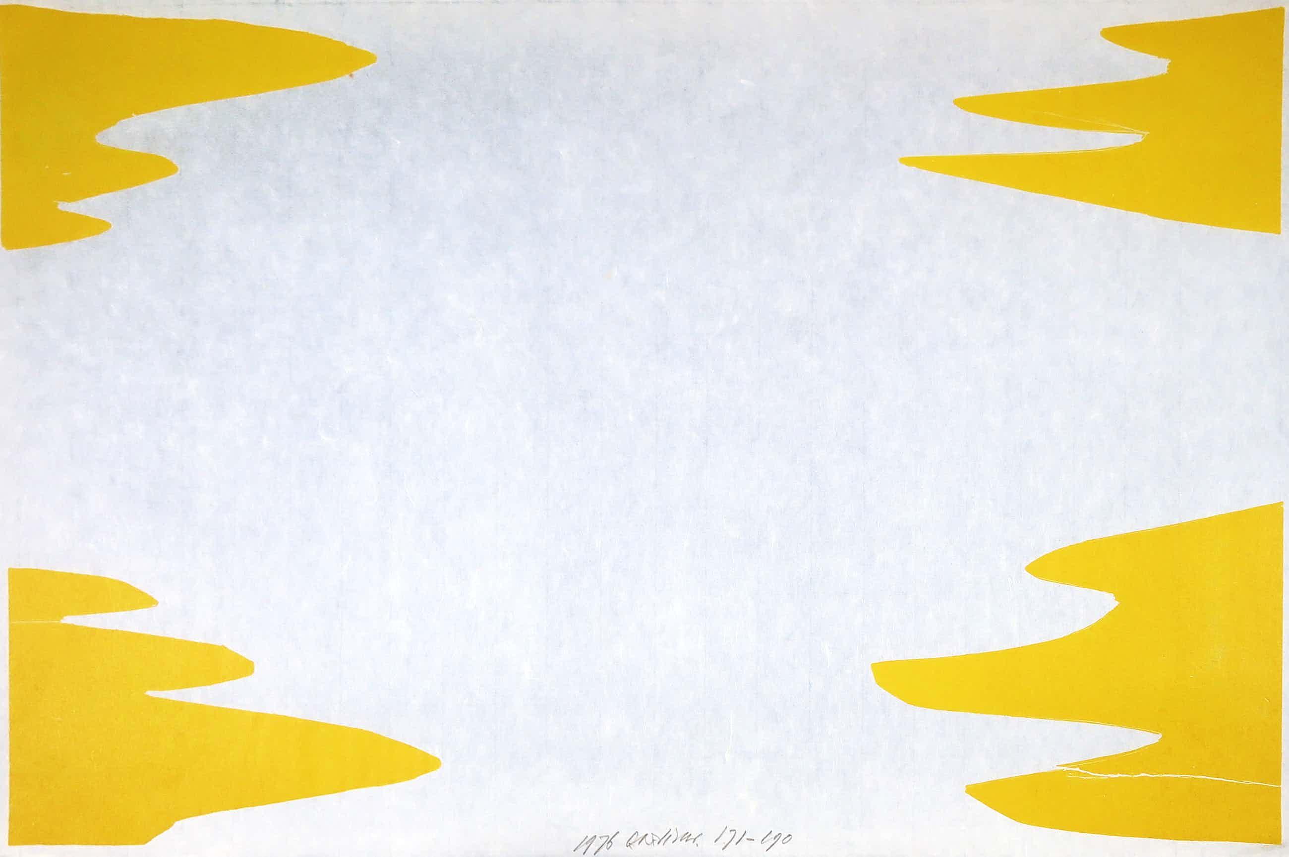 Carel Visser - Houtdruk op Japans papier, Prent 190 kopen? Bied vanaf 100!