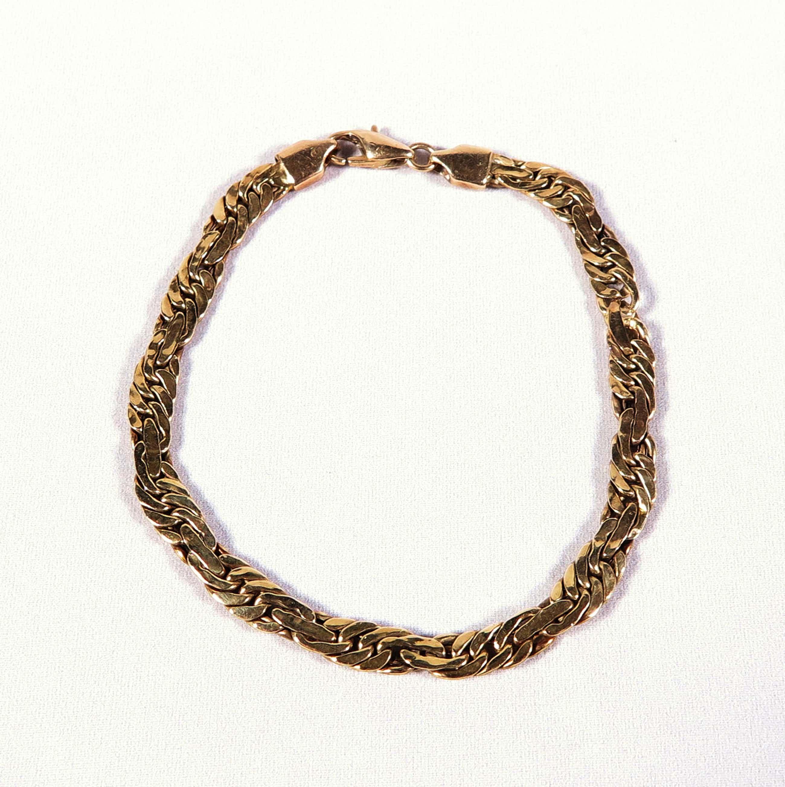 14K Goud - Mooie gouden armband kopen? Bied vanaf 250!