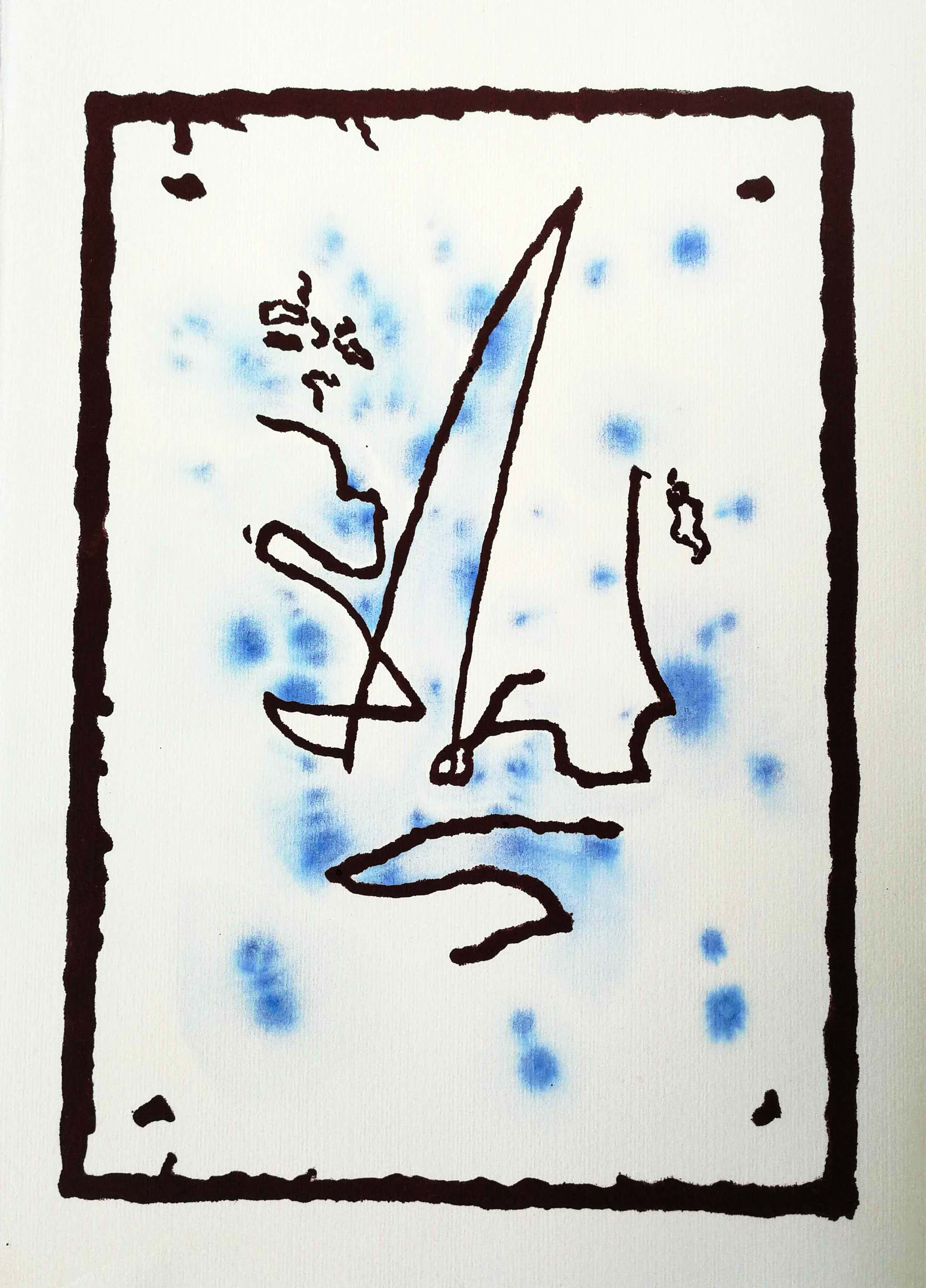 Frank Lodeizen - Figuur. Abstract. kopen? Bied vanaf 59!