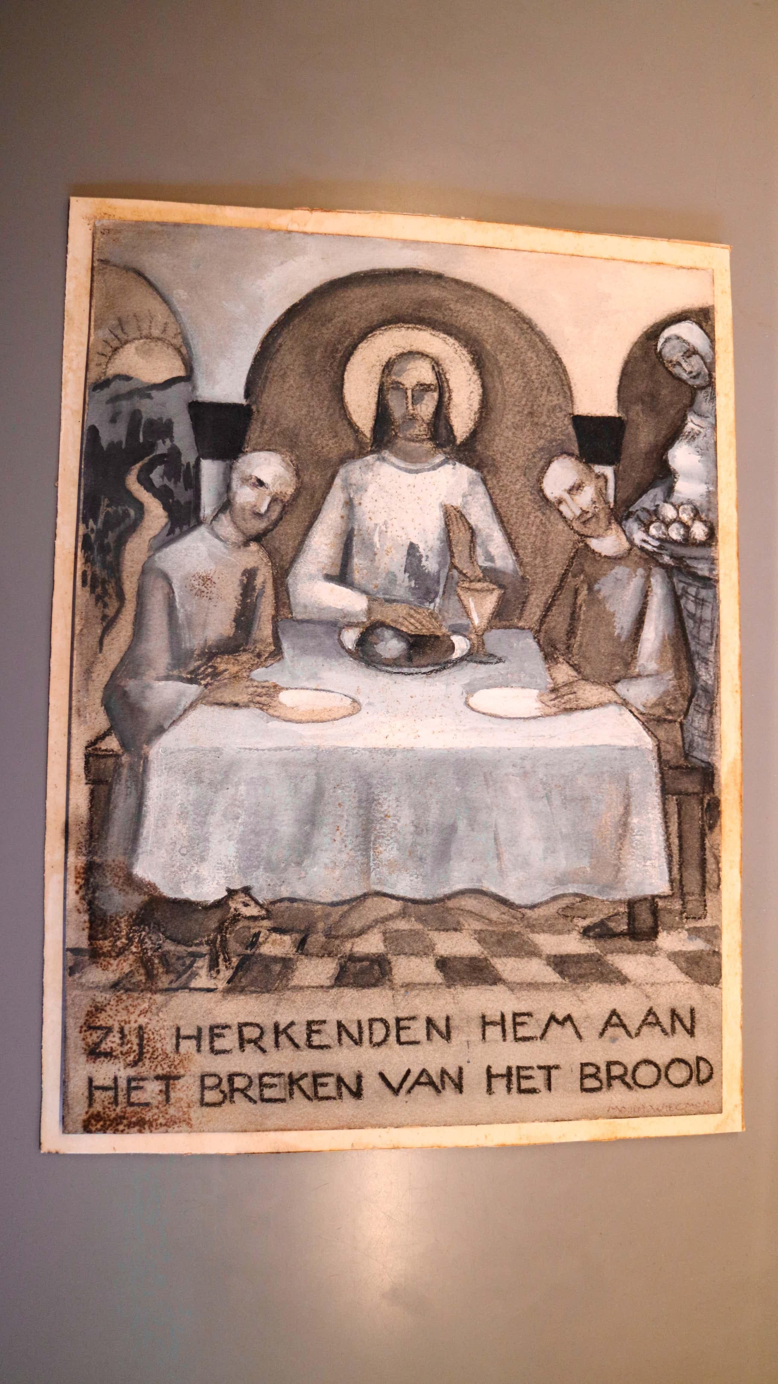 Matthieu Wiegman - zij herkenden hem aan het breken van het brood kopen? Bied vanaf 40!