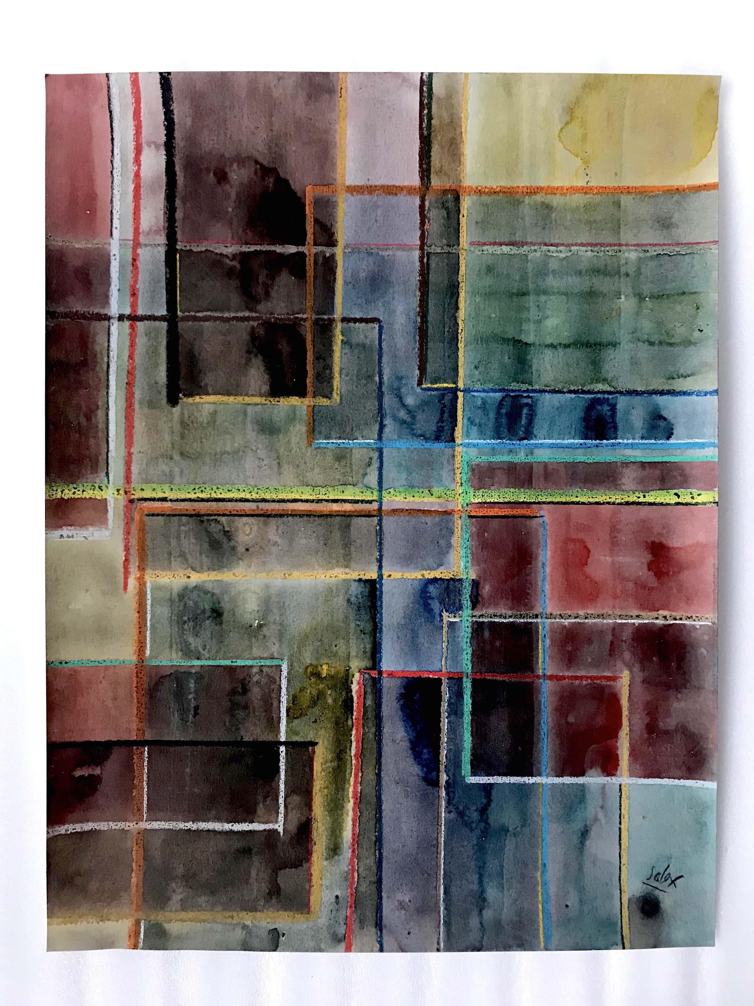 Solex - Abstracticoi - Handgesigneerd kopen? Bied vanaf 70!
