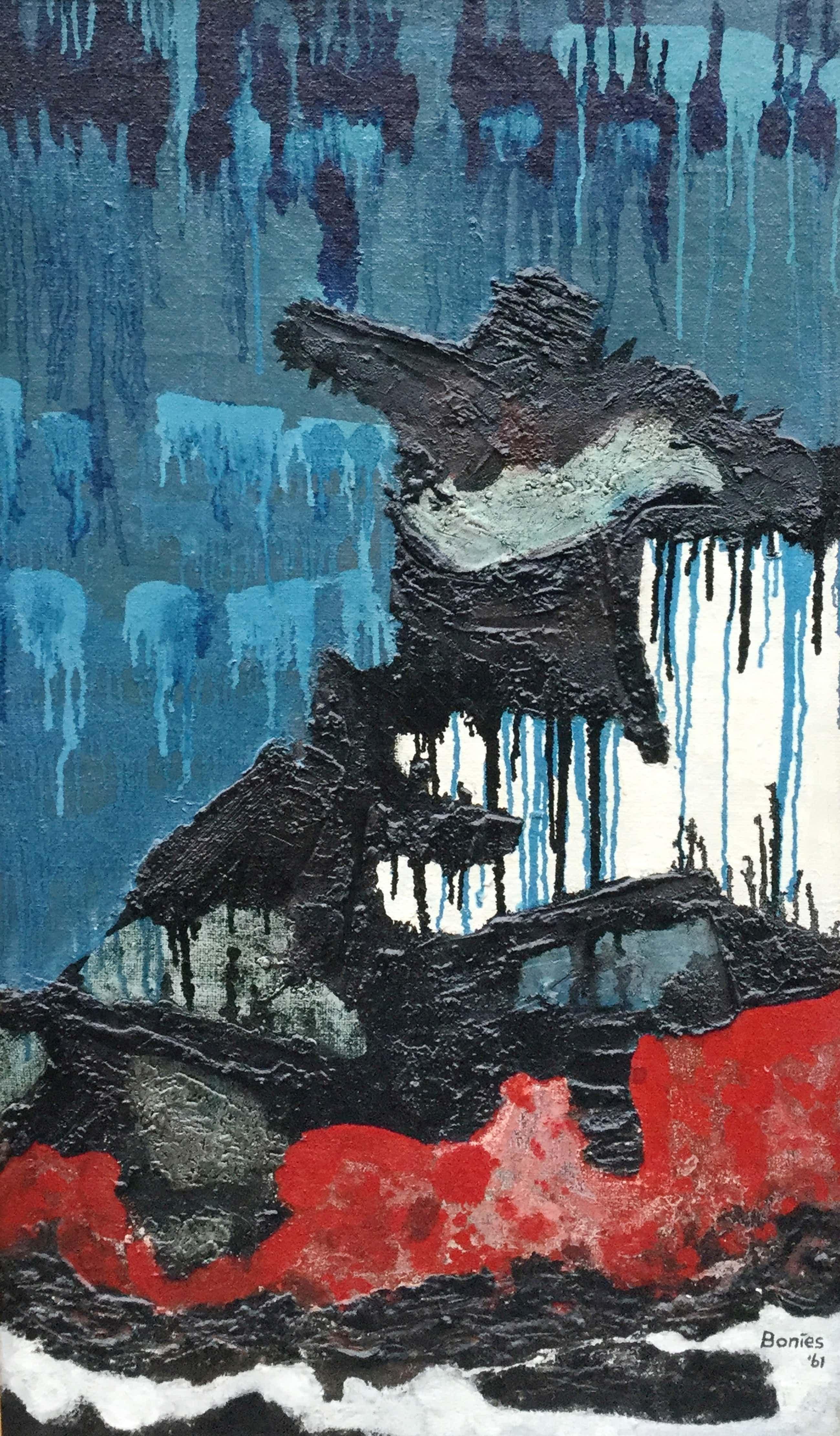 Bob Bonies - C2327 Abstracte compositie kopen? Bied vanaf 400!