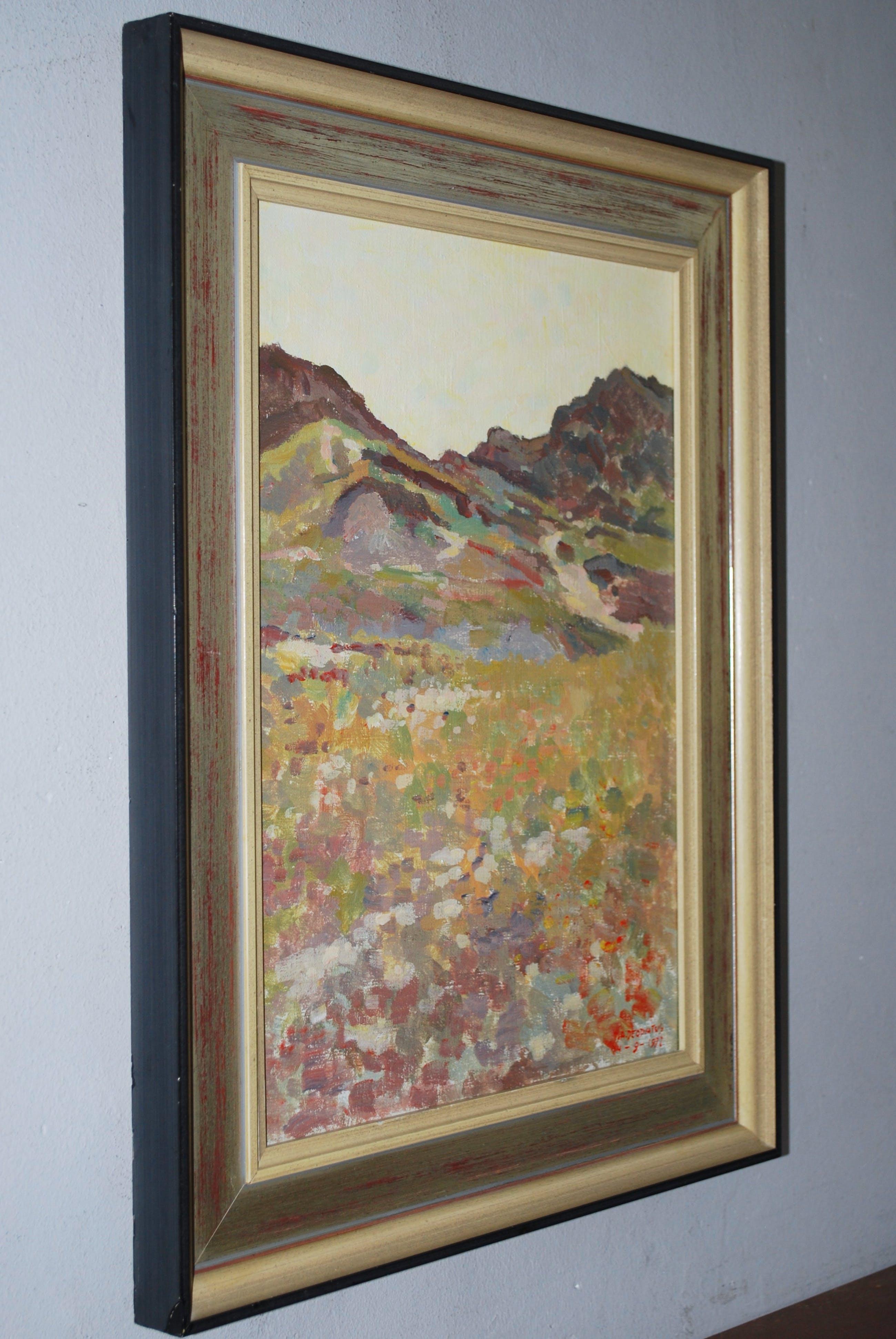 Jan Deodatus - Terschelling landschap - acryl op doek 1971 kopen? Bied vanaf 100!