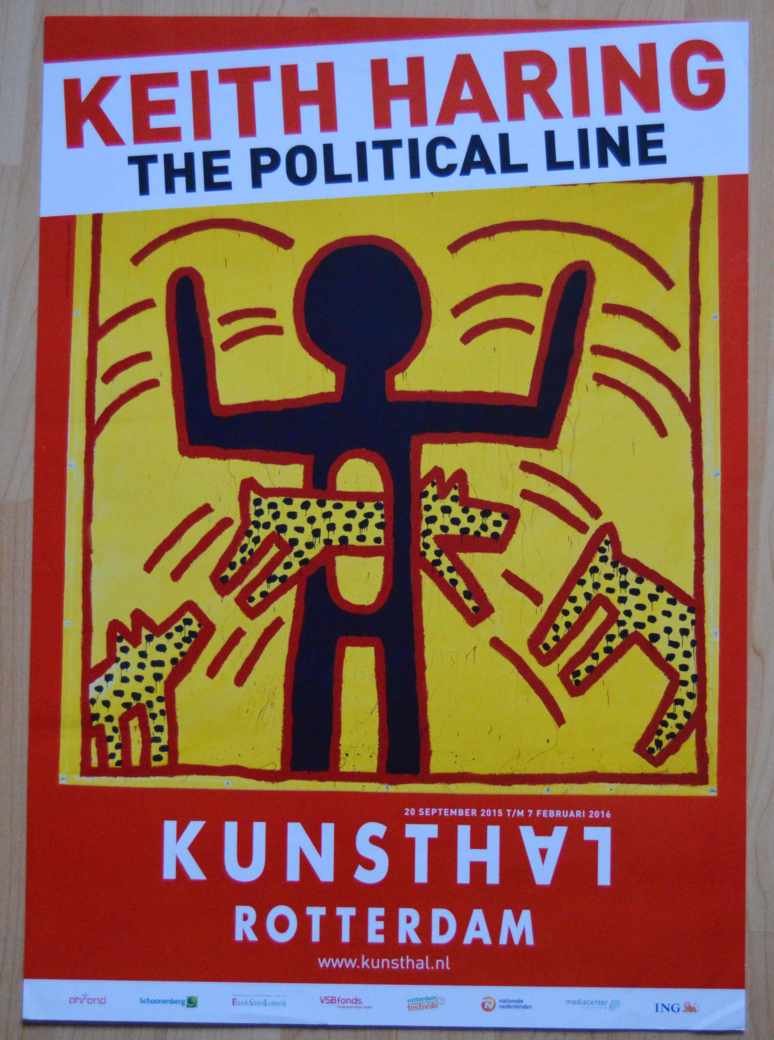 Keith Haring - Keith Haring. The political line. kopen? Bied vanaf 40!