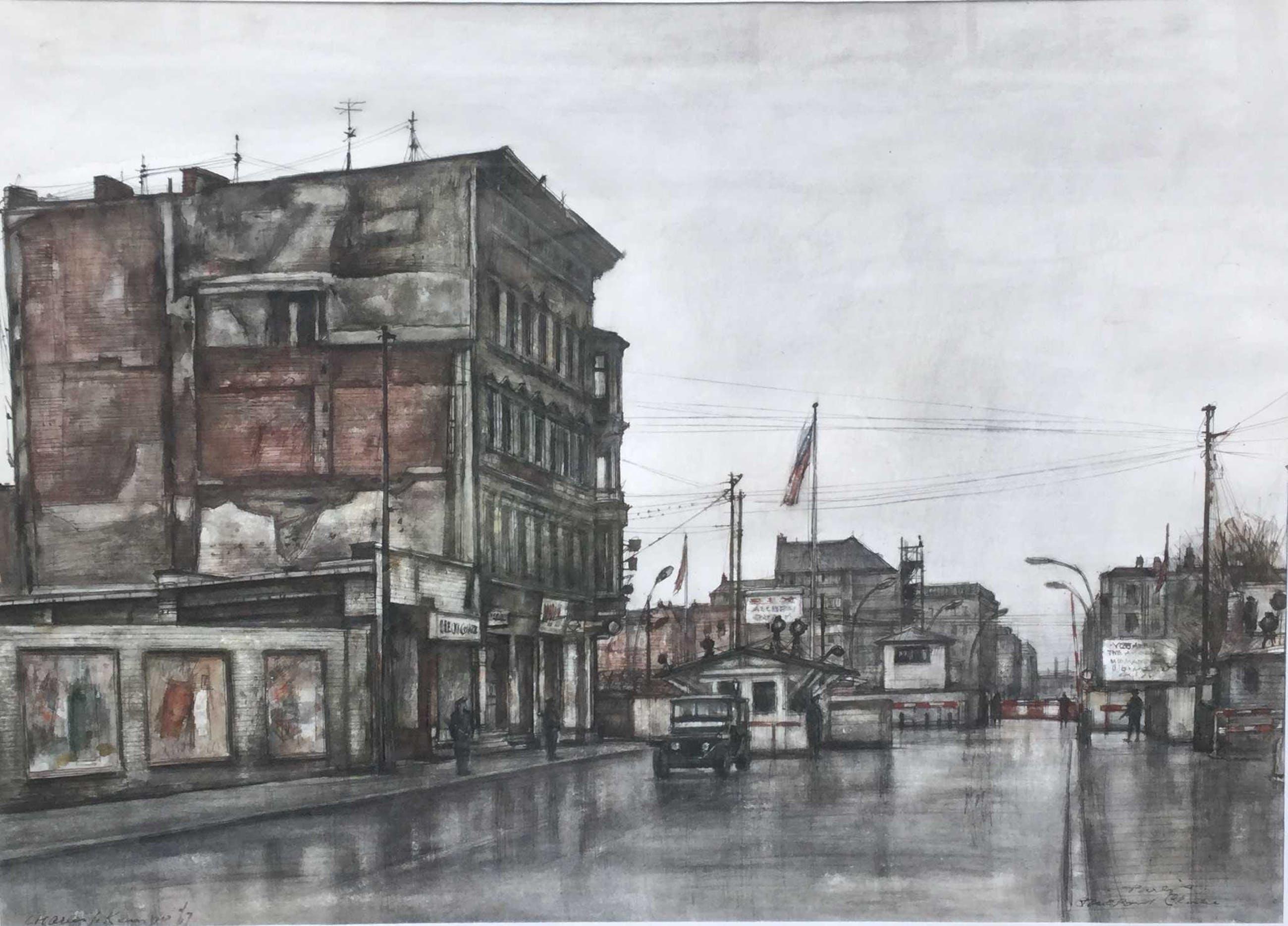 Charles J. Kemper - C3313 - Berlijn, Checkpoint Charlie kopen? Bied vanaf 350!